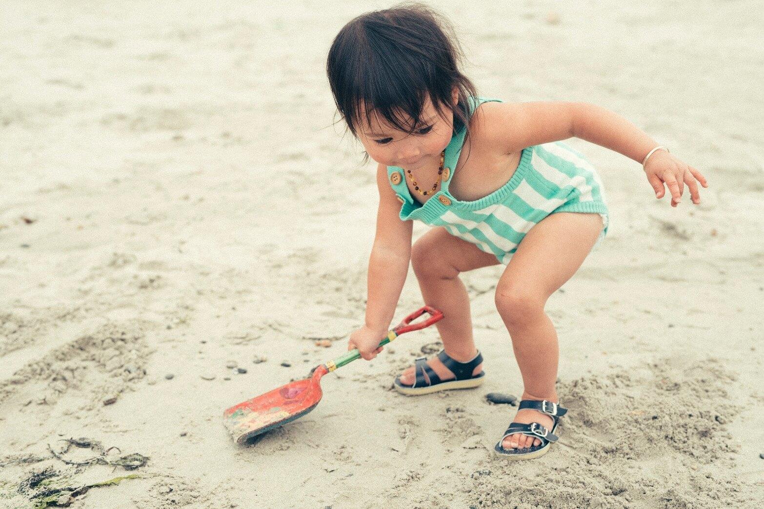 Sun San Seawee Baby Sandal Navy