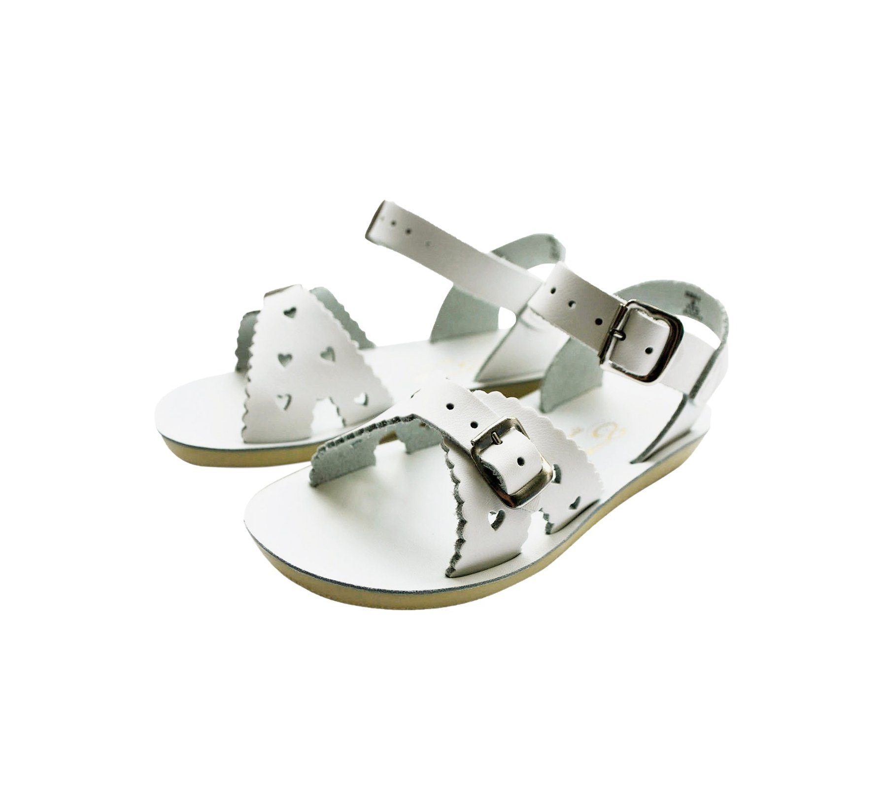 Sweetheart Blanc - Salt Water Sandals
