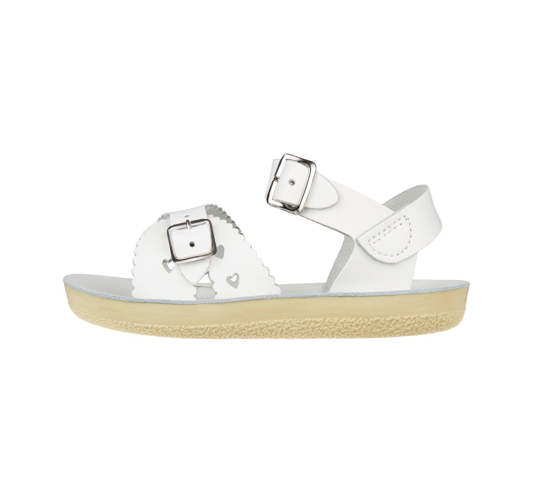 Sweetheart White  - Salt Water Sandals