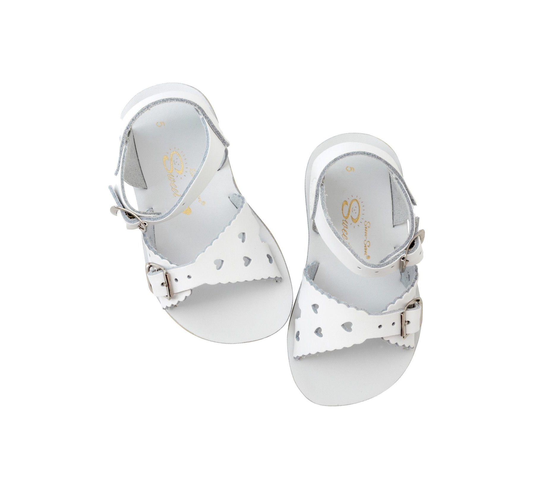 Sweetheart White  - Salt Water Sandals