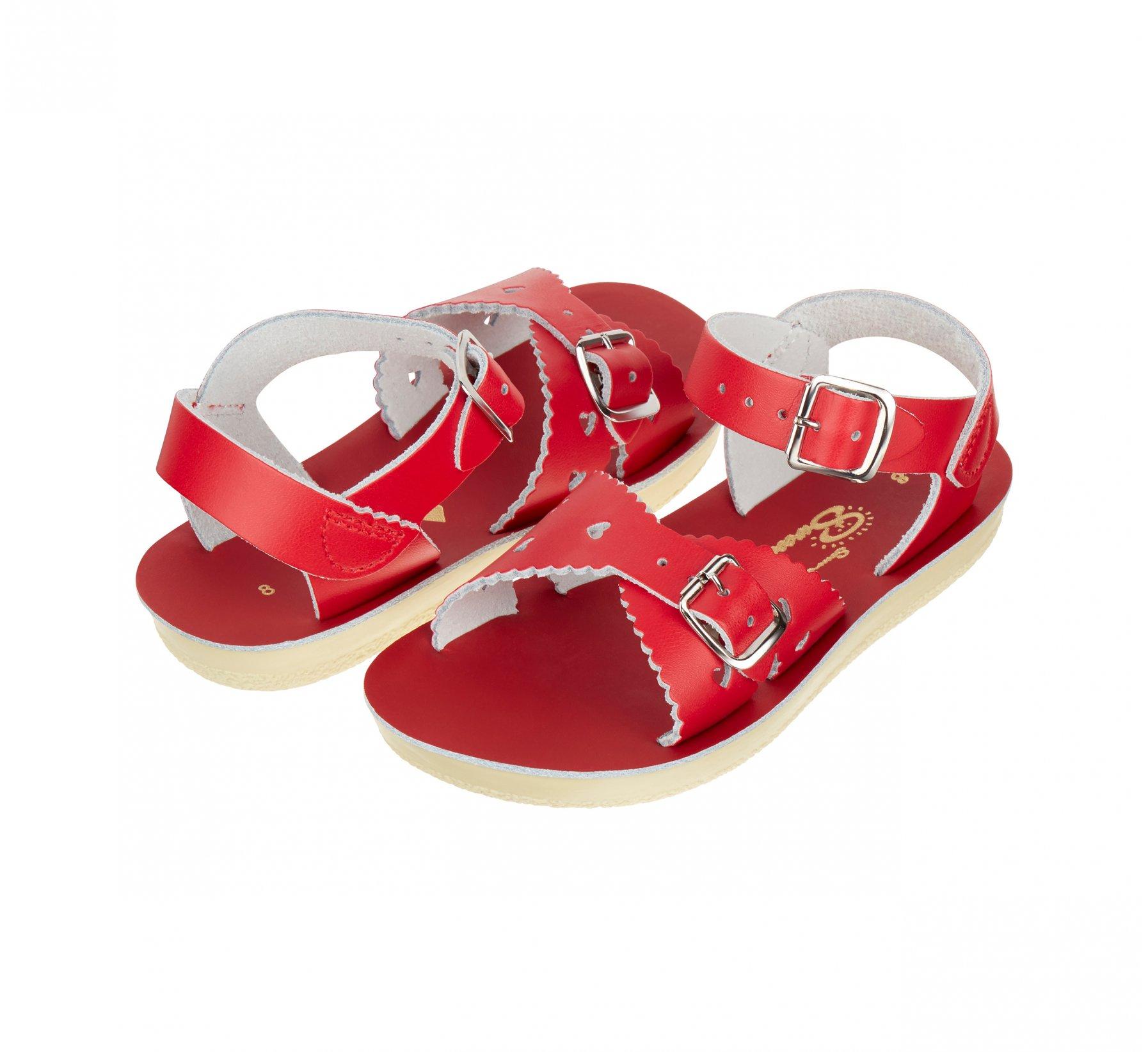 Sweetheart in Rot  - Salt Water Sandals