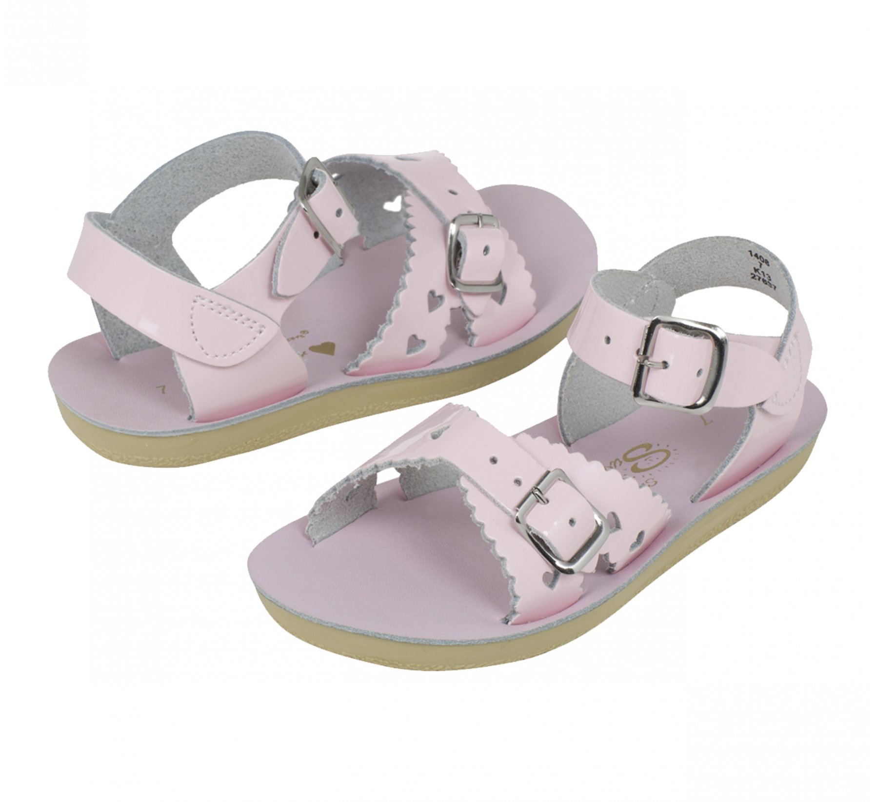 Sweetheart Merah Jambu Berkilat - Salt Water Sandals