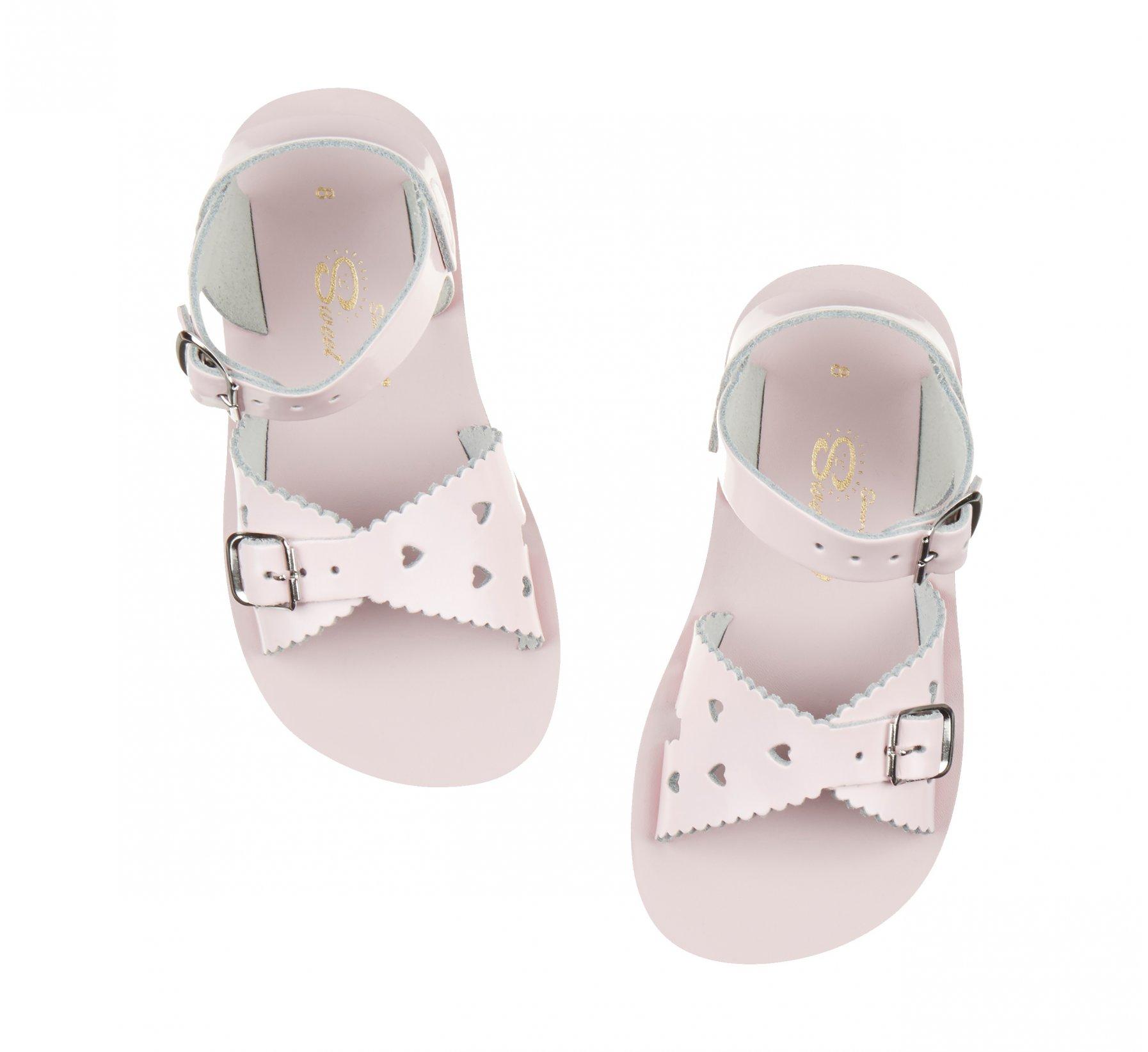 Sweetheart Merah Jambu Berkilat - Salt Water Sandals