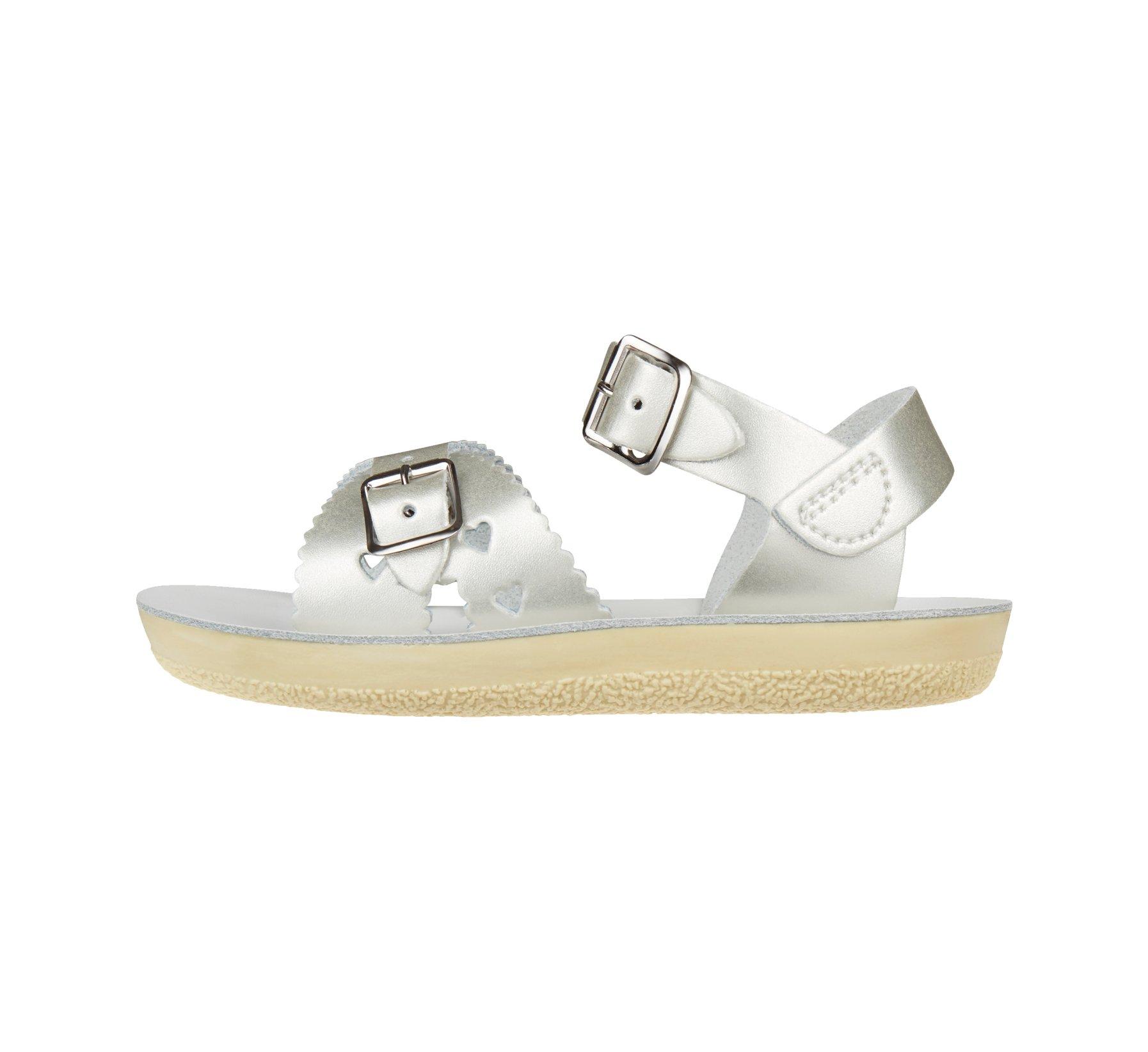 Sweetheart Silver - Salt Water Sandals