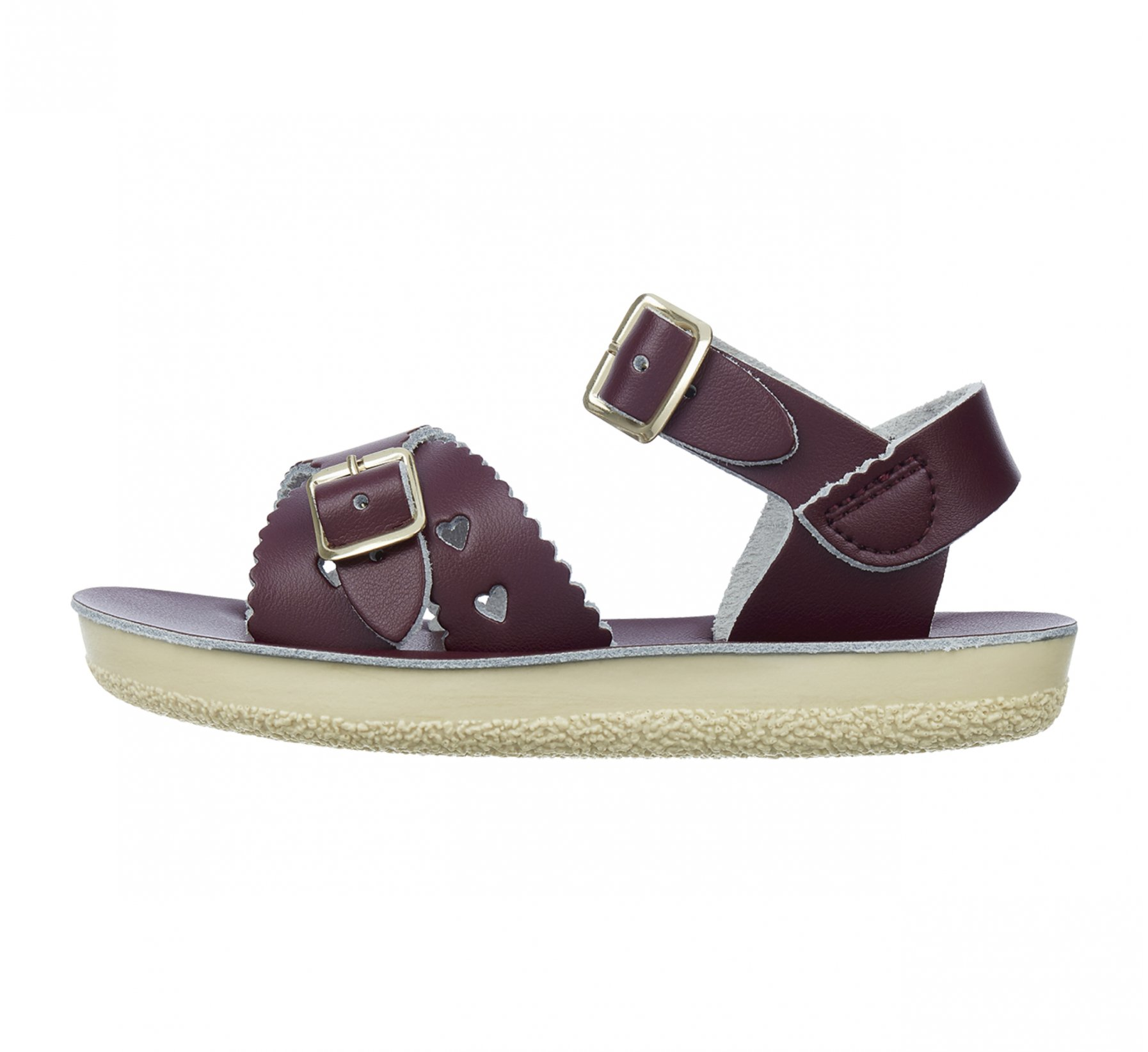 Sweetheart in Bordeaux - Salt Water Sandals
