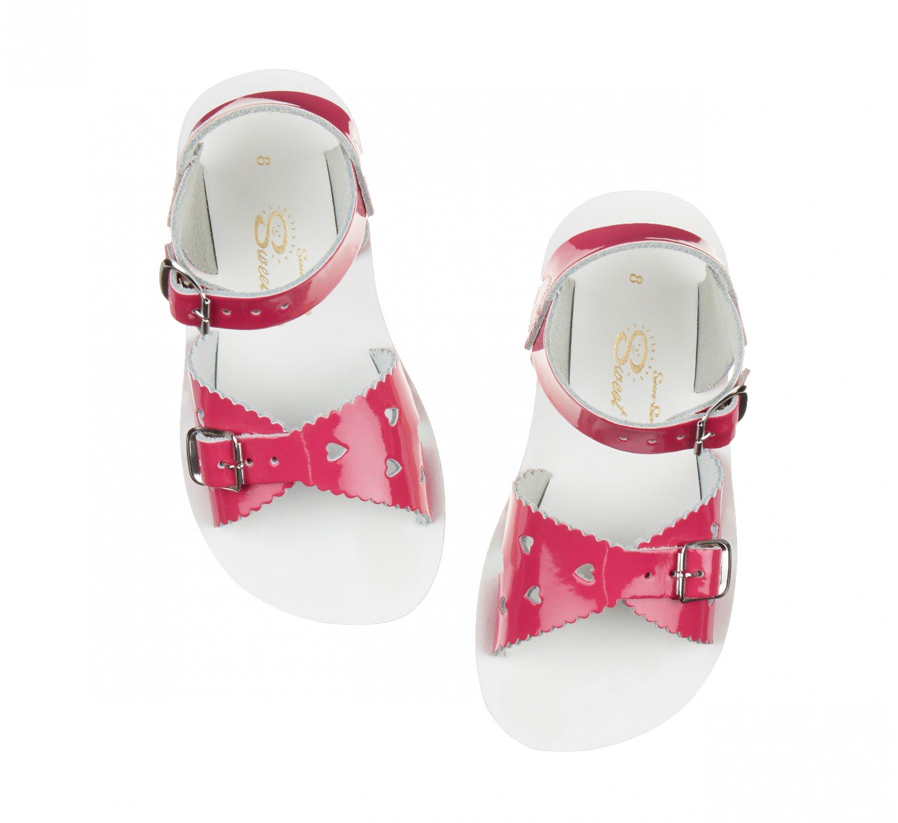 Sweetheart Shiny Fuchsia  - Salt Water Sandals