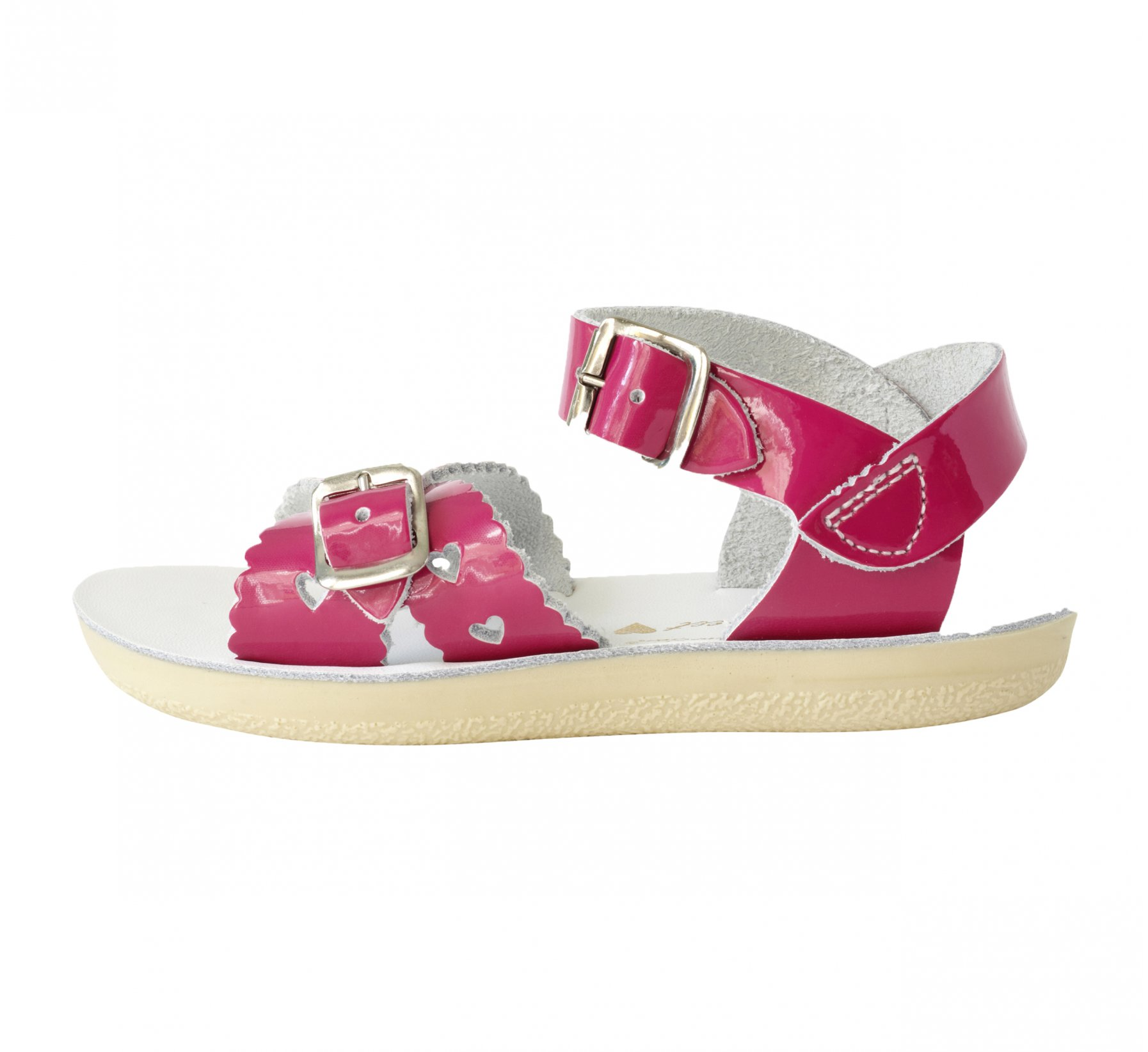 Sweetheart Fuchsia Berkilat - Salt Water Sandals