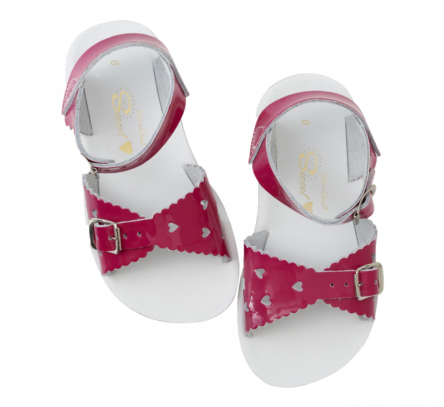 Sweetheart Shiny Fuchsia  - Salt Water Sandals