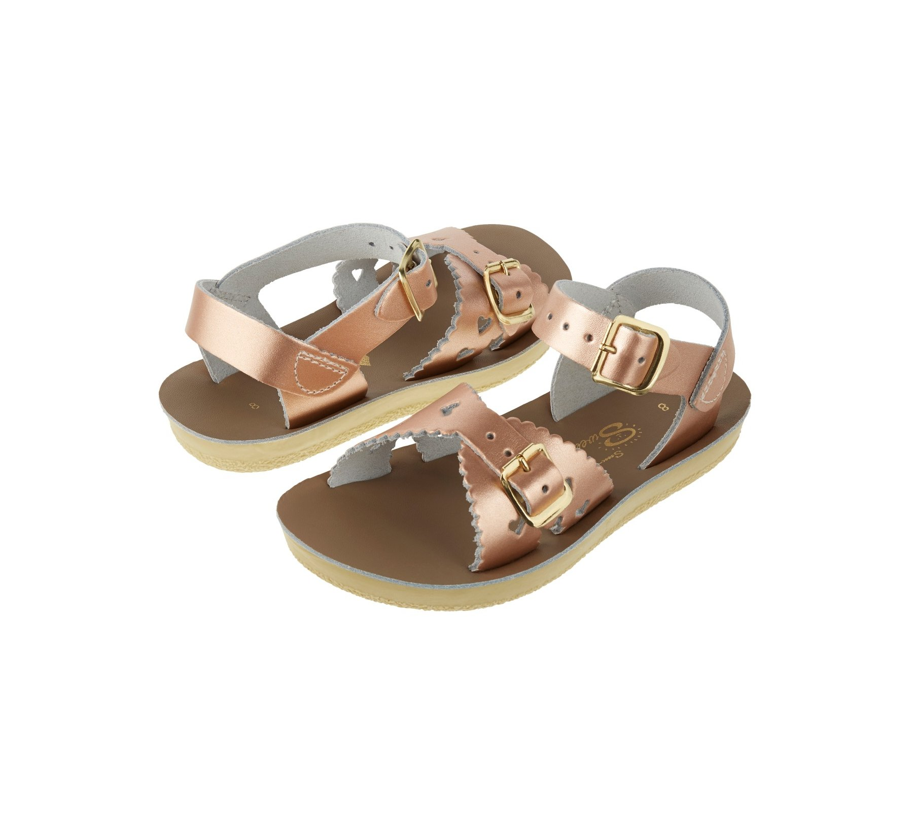 Sweetheart in Roségold - Salt Water Sandals