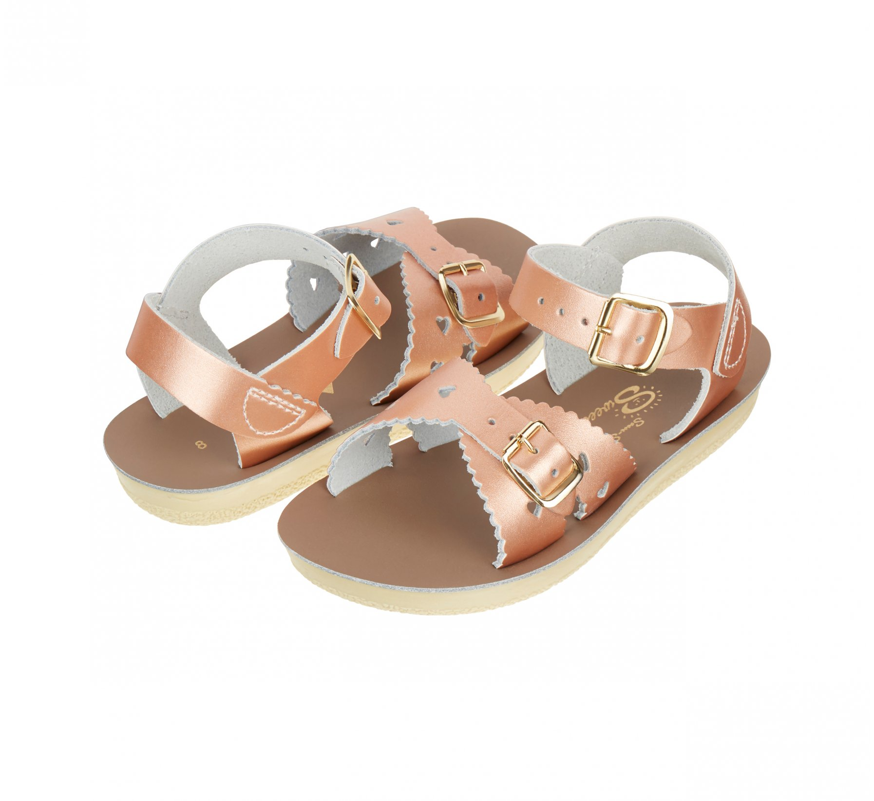 Sweetheart Emas Ros Merah - Salt Water Sandals