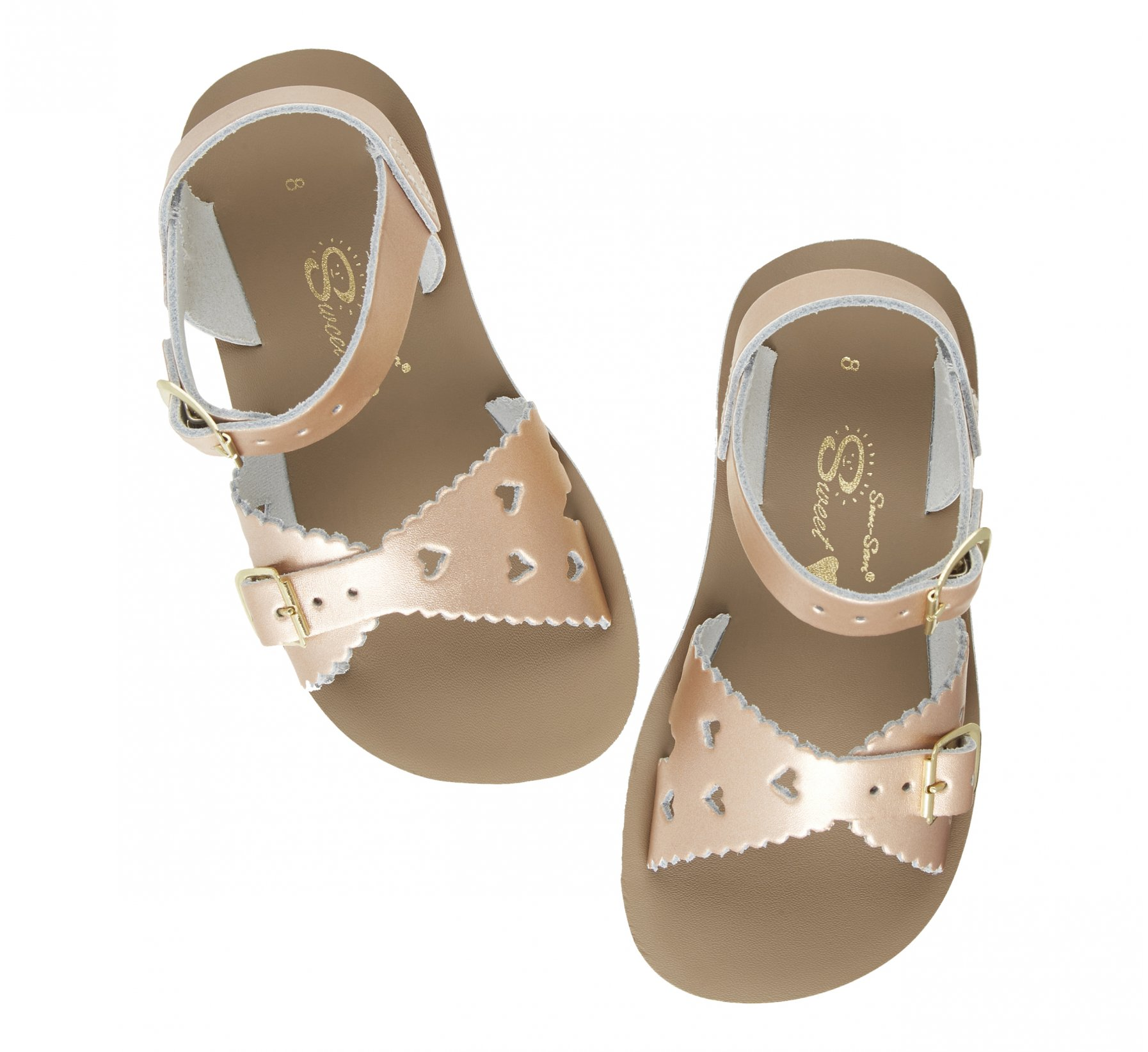 Sweetheart Rose Gold  - Salt Water Sandals