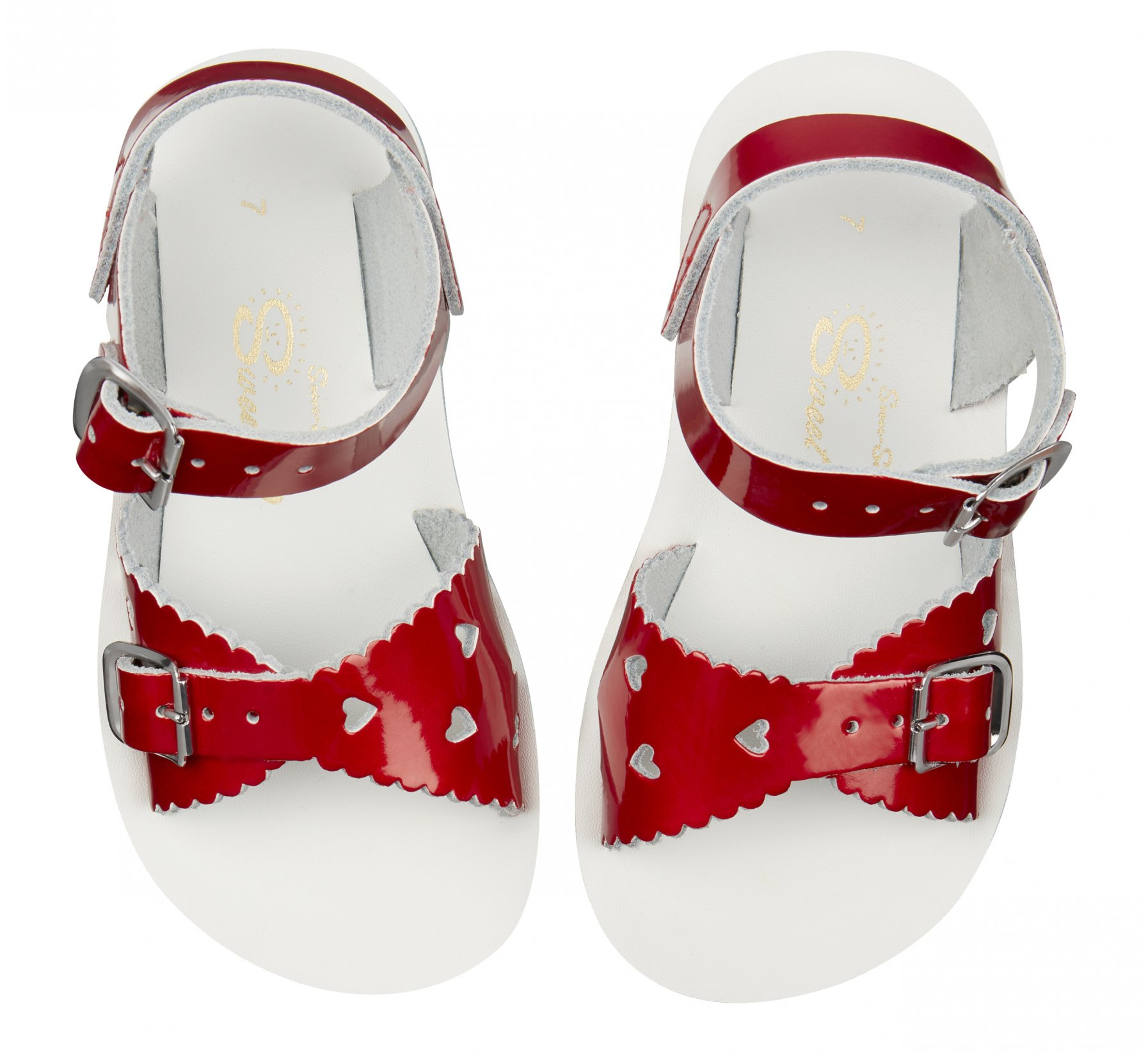 Sweetheart Candy Red  - Salt Water Sandals