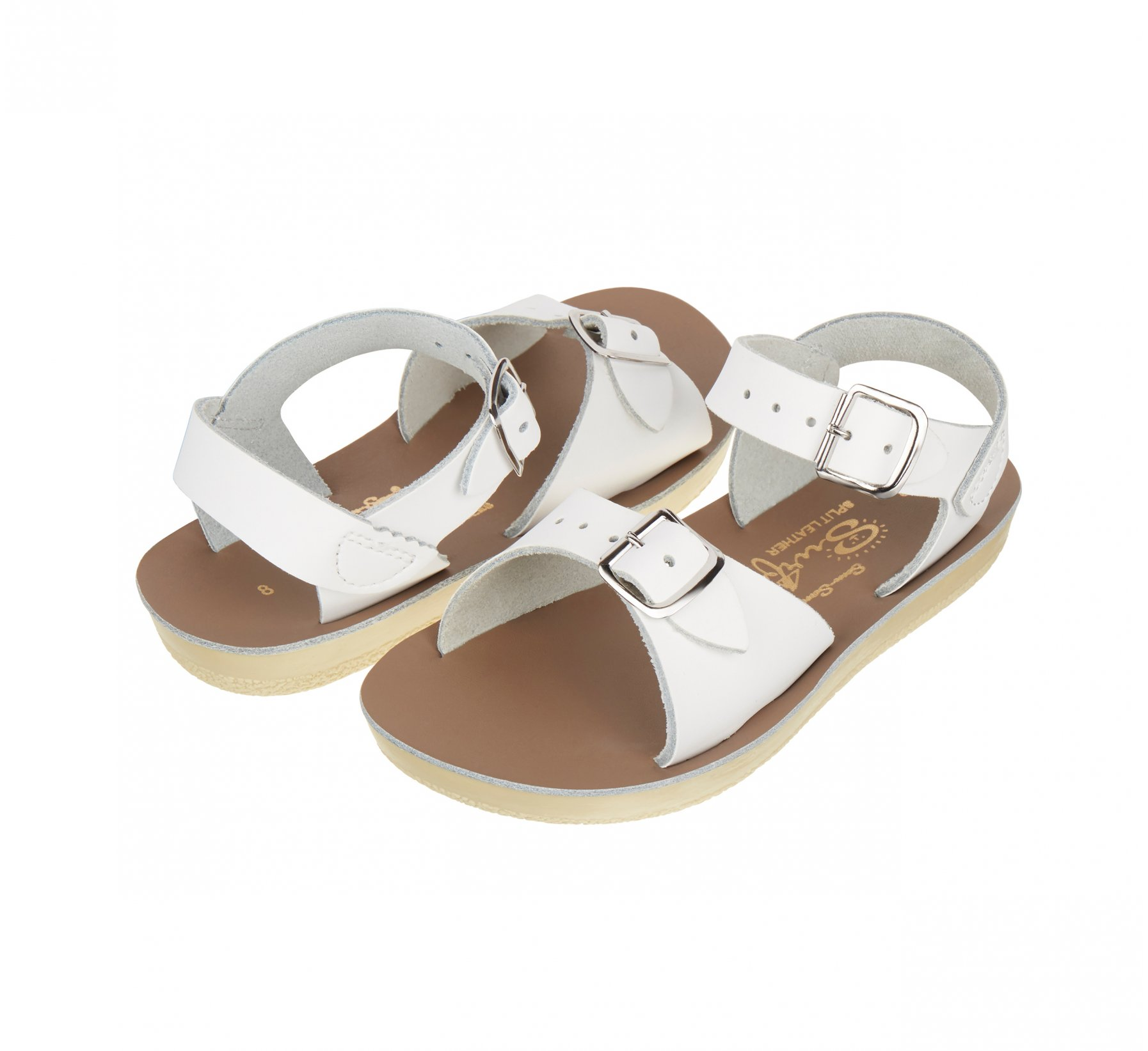 Surfer White - Salt Water Sandals