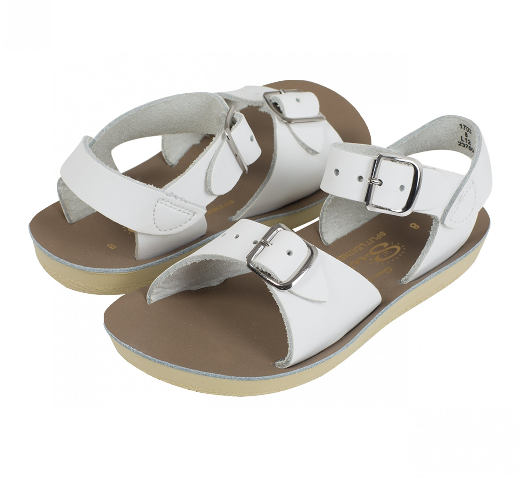 Surfer White - Salt Water Sandals