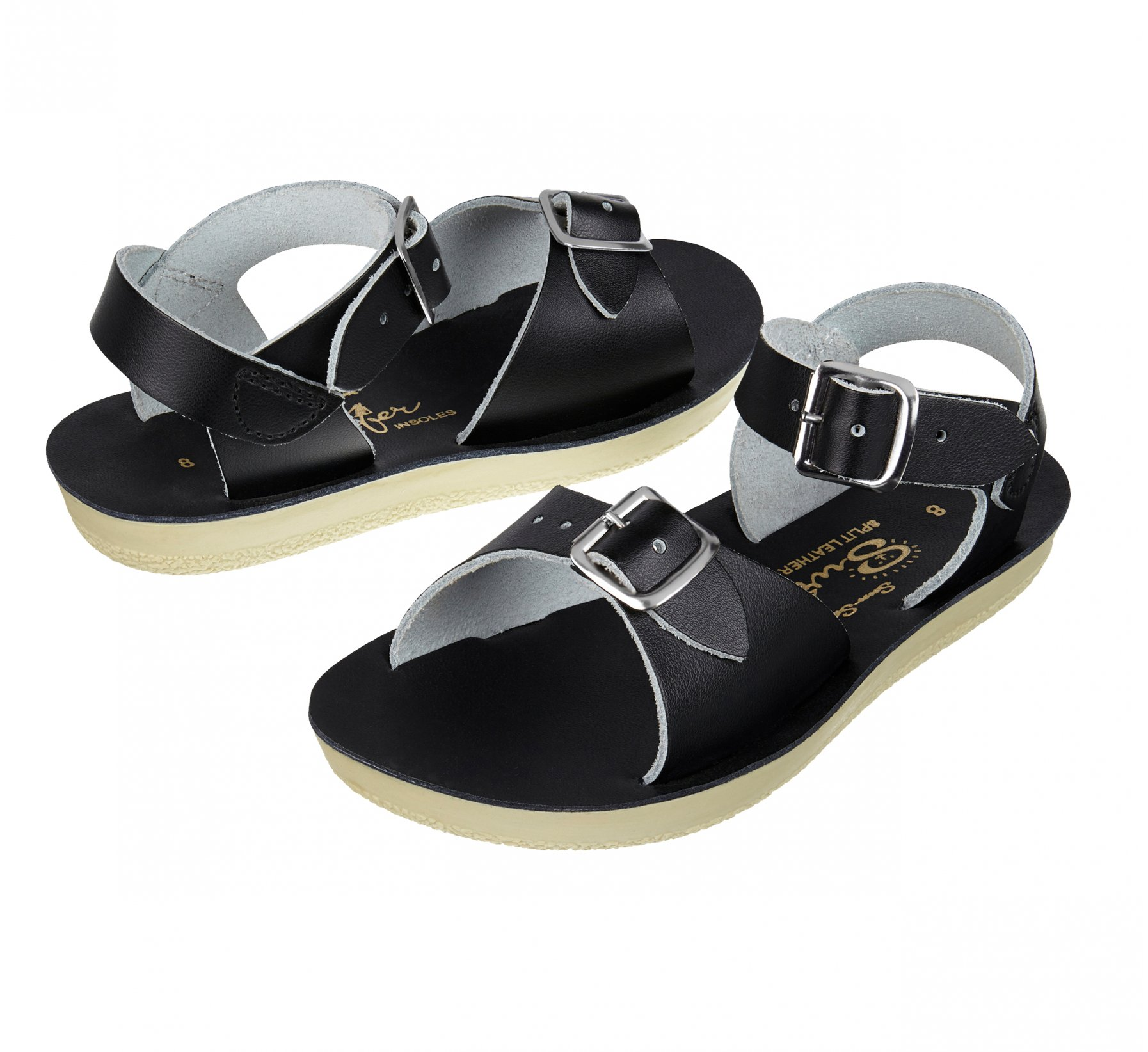 Surfer Black - Salt Water Sandals