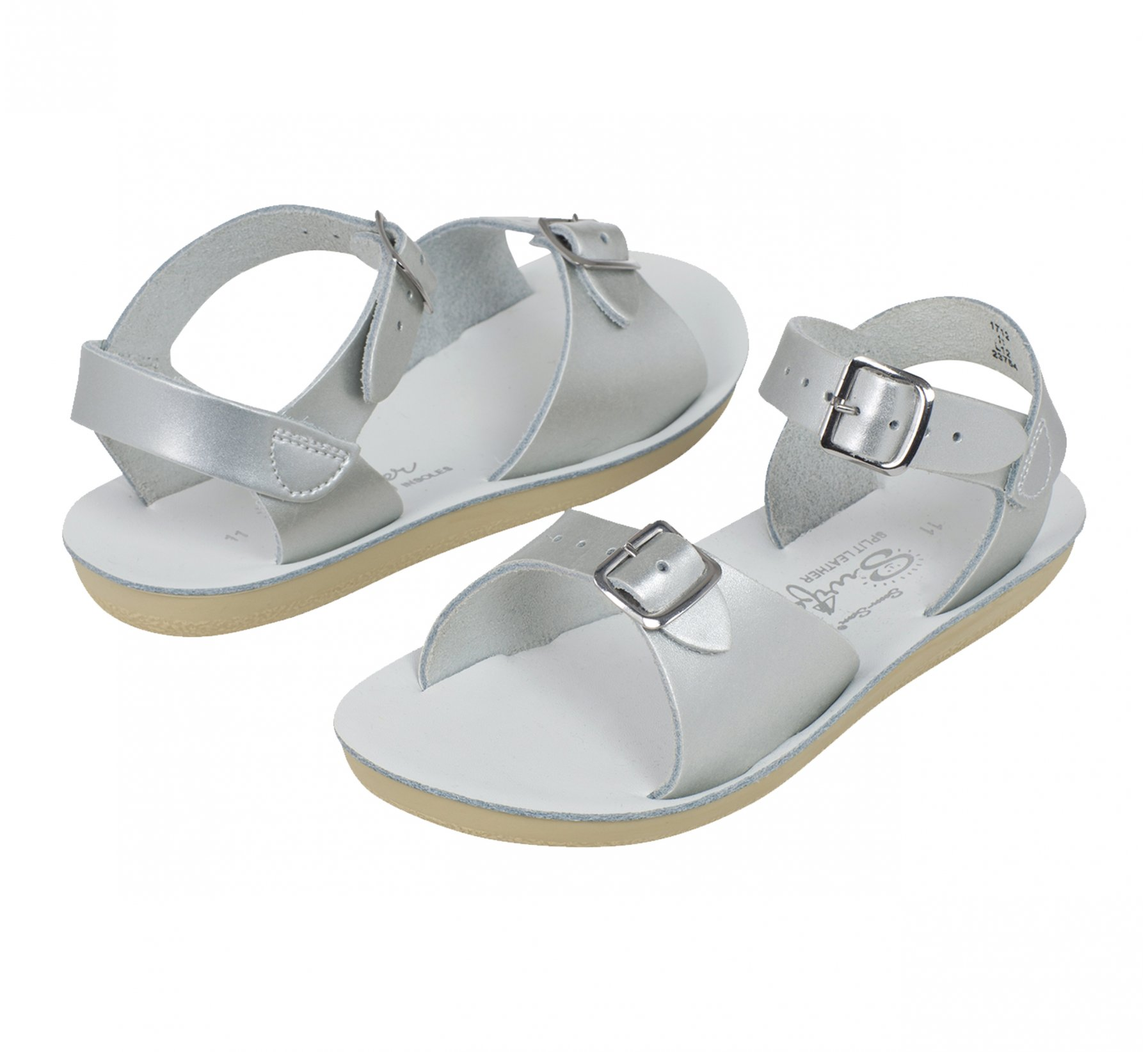 Surfer Argenté - Salt Water Sandals