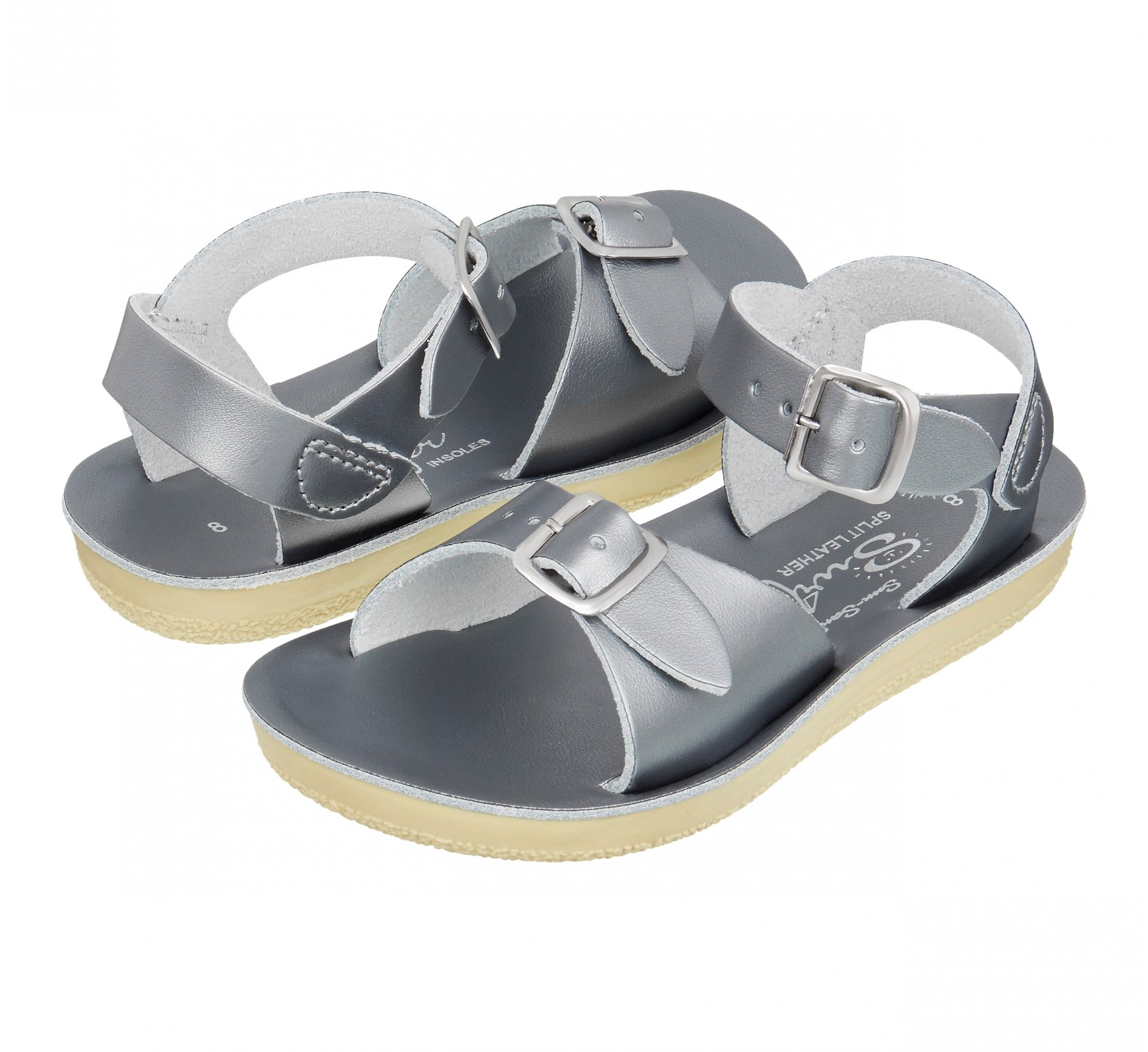 Surfer Pewter - Salt Water Sandals