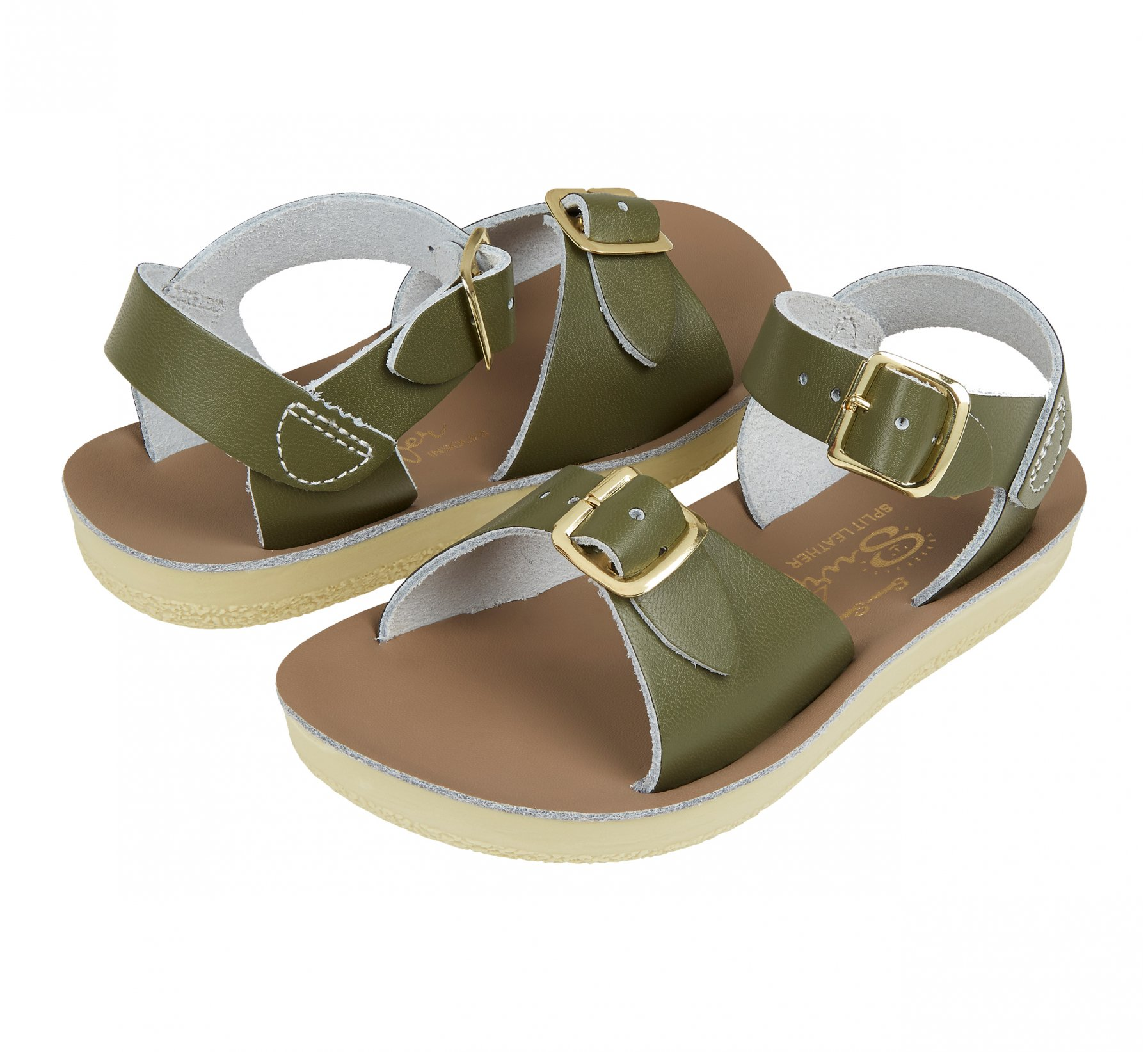 Surfer Olive  - Salt Water Sandals