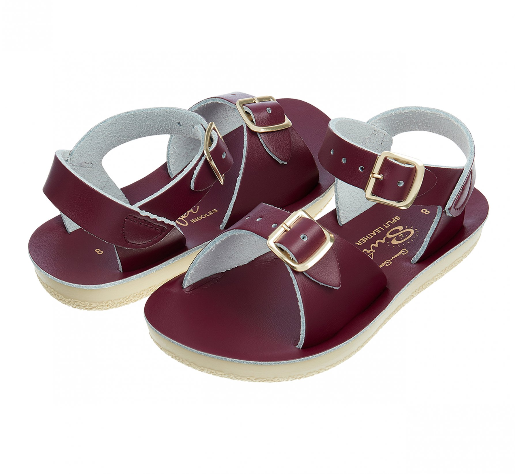 Surfer Claret  - Salt Water Sandals