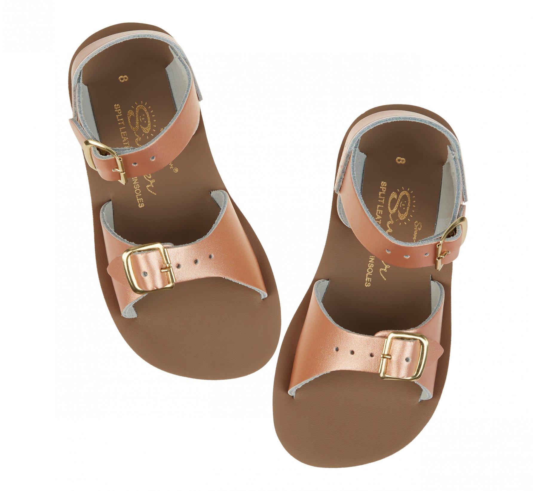 Surfer Emas Ros Merah - Salt Water Sandals