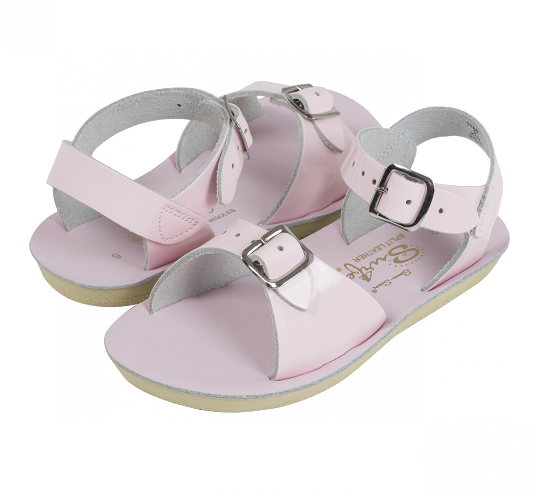 Surfer Shiny Pink  - Salt Water Sandals