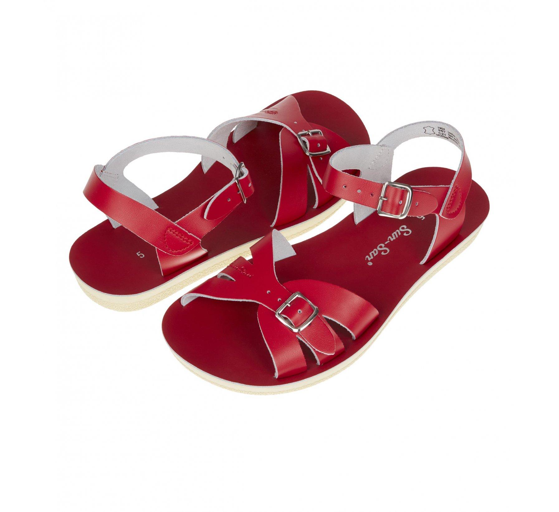 Boardwalk Red - Salt Water Sandals