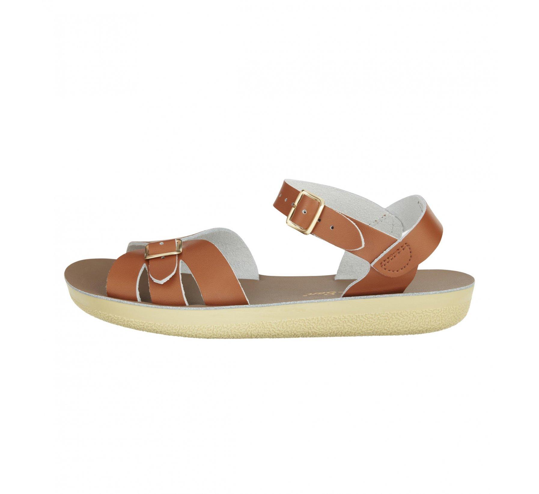 Boardwalk Tan - Salt Water Sandals