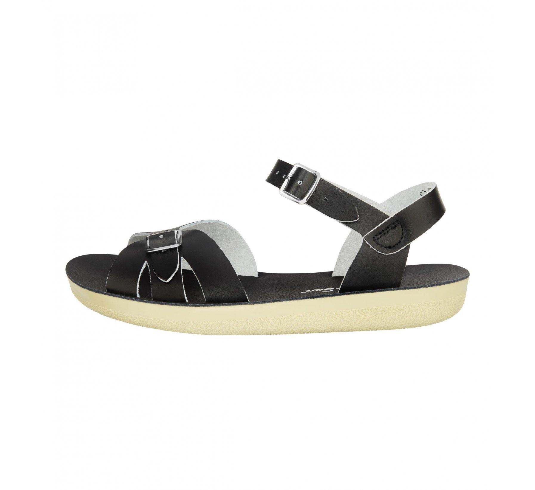 Boardwalk Black - Salt Water Sandals