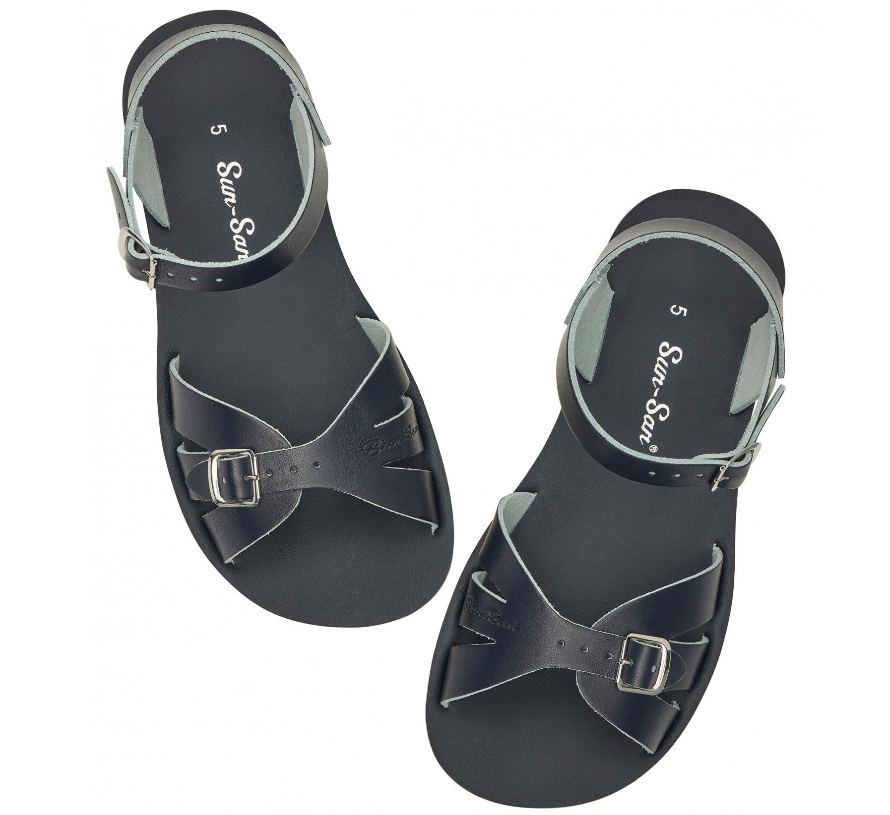 Boardwalk Navy - Salt Water Sandals