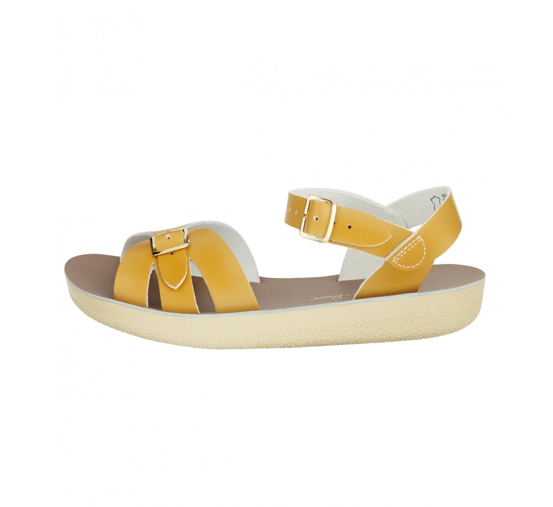 Boardwalk Mustard - Salt Water Sandals