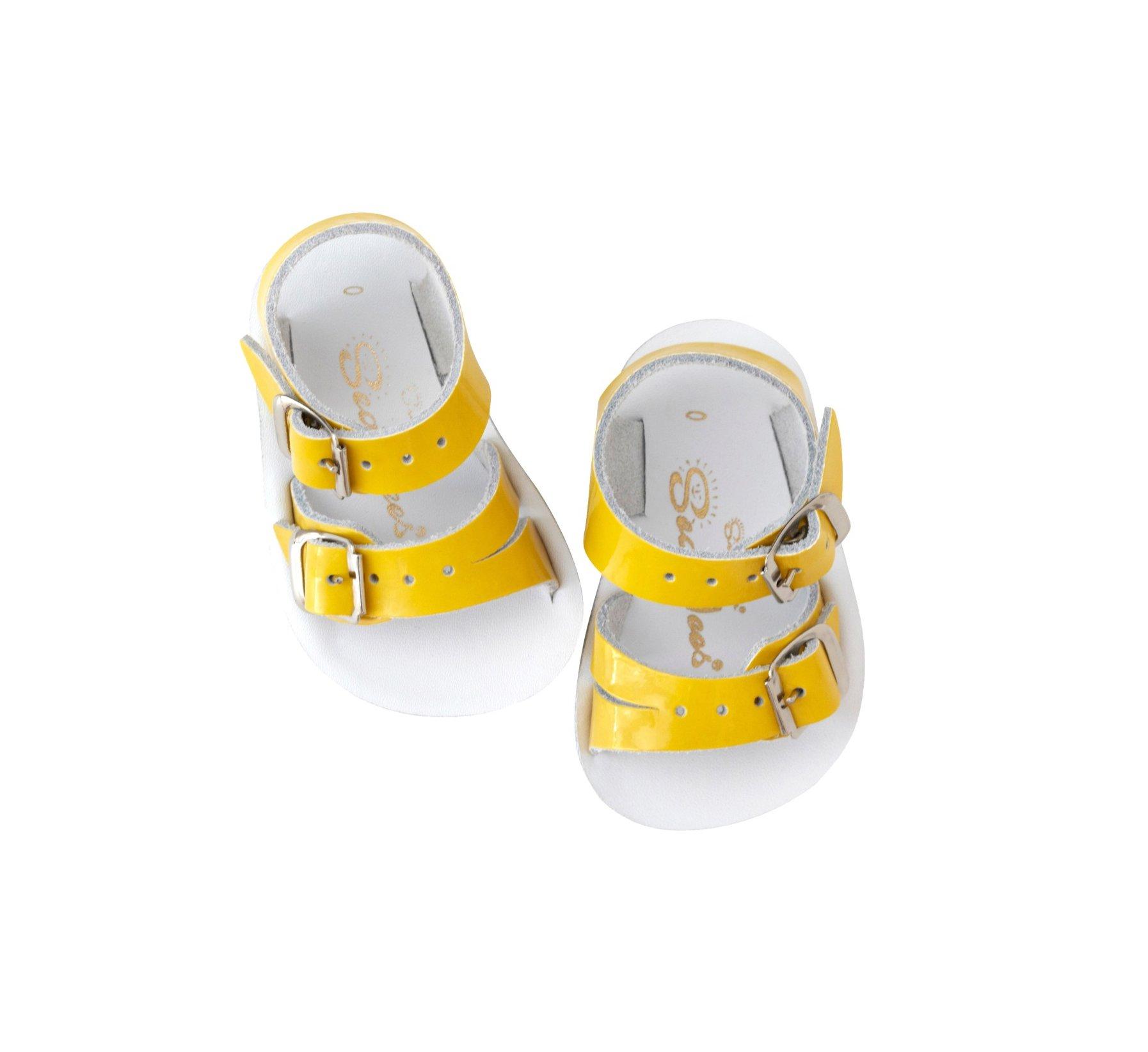 Seawee Shiny Yellow - Salt Water Sandals