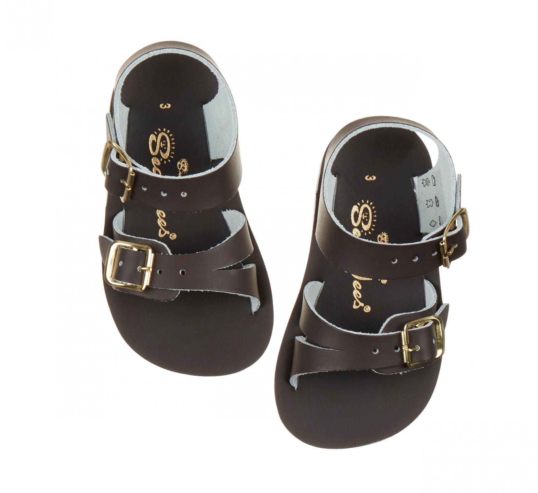 Seawee Brown - Salt Water Sandals