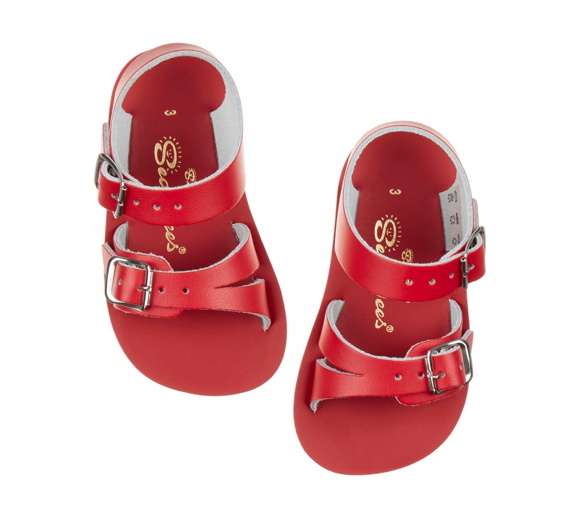 Seawee Red - Salt Water Sandals