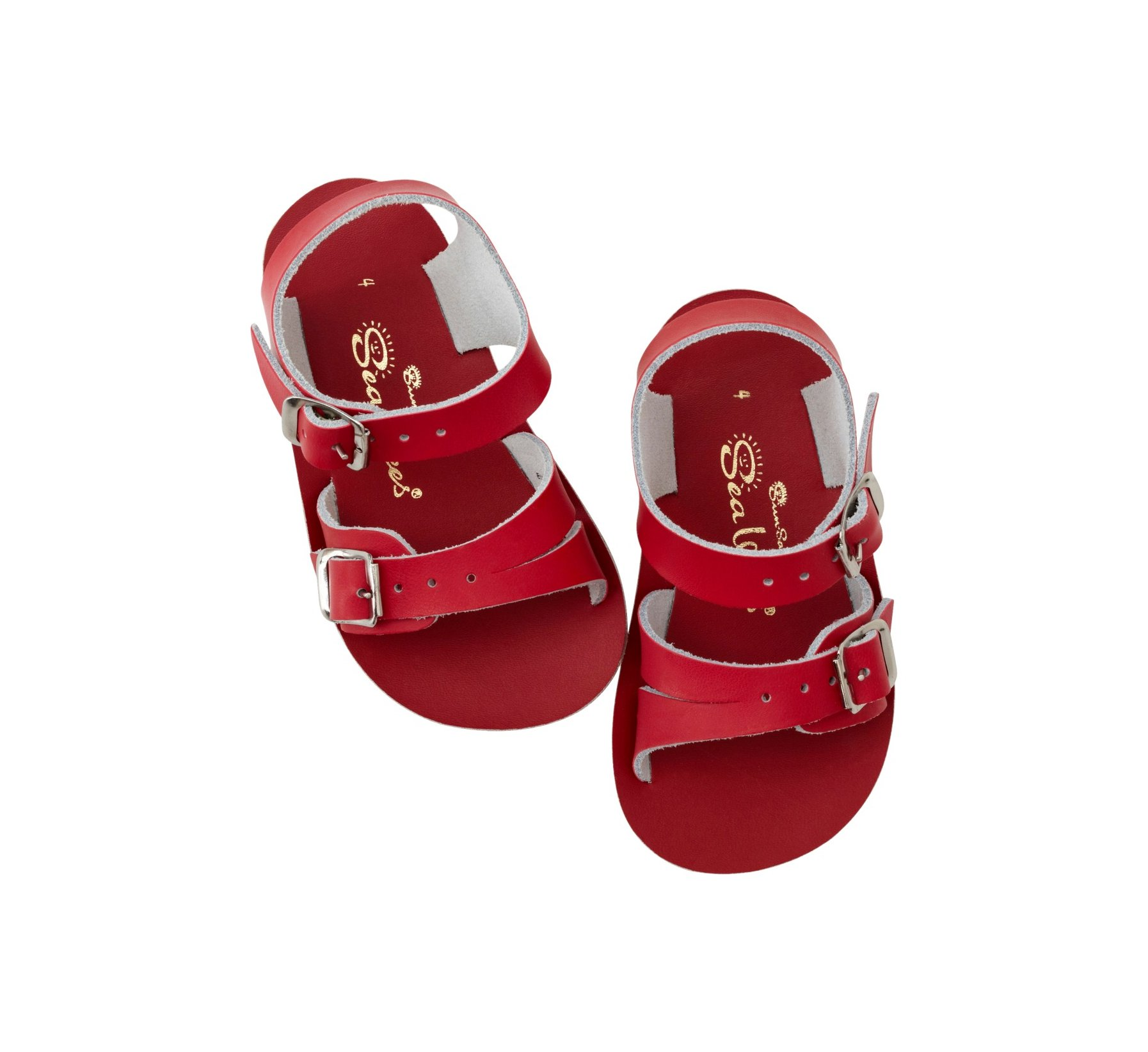 Seawee Red - Salt Water Sandals