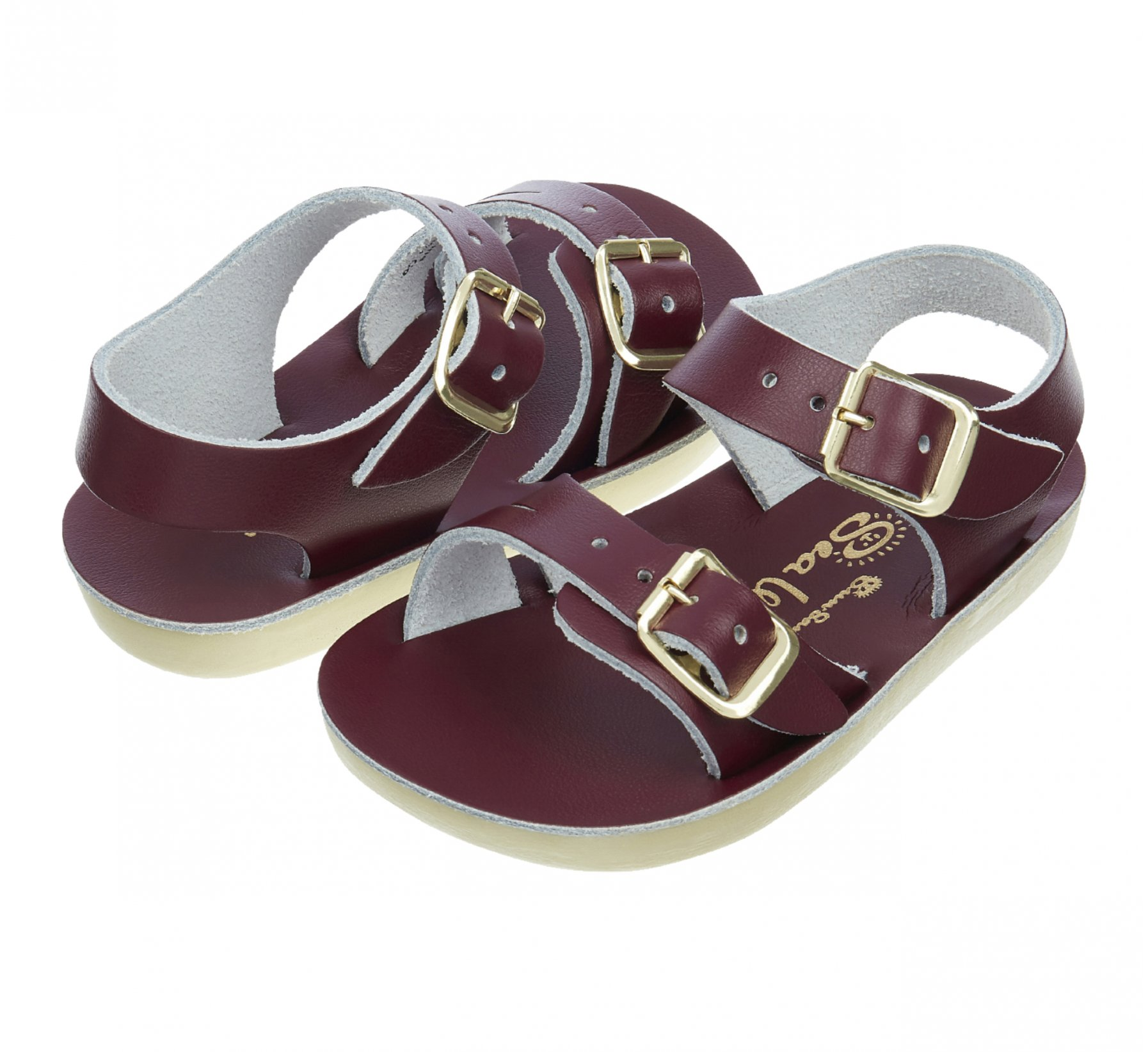 Seawee Bordeaux  - Salt Water Sandals