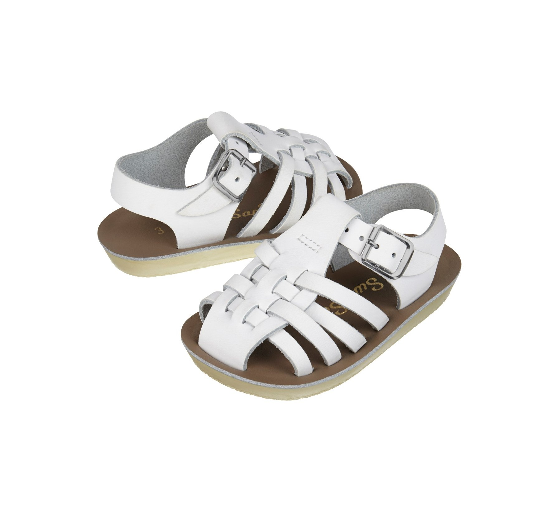 Sailor White  - Salt Water Sandals