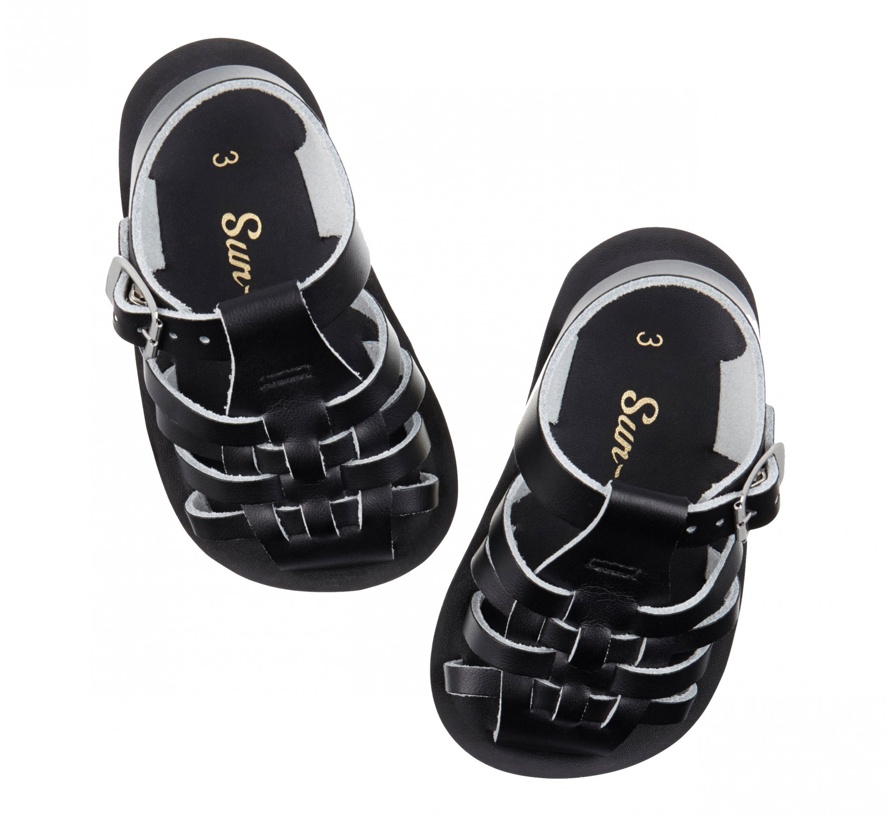 Sailor Black  - Salt Water Sandals