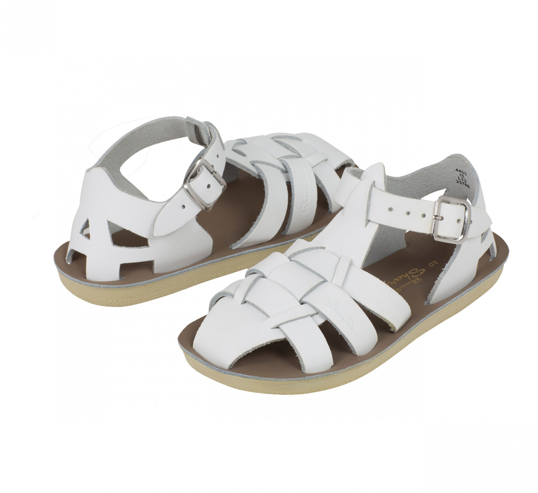 Shark White  - Salt Water Sandals
