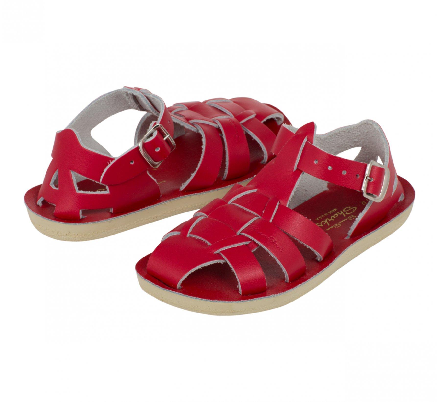 Shark Red  - Salt Water Sandals