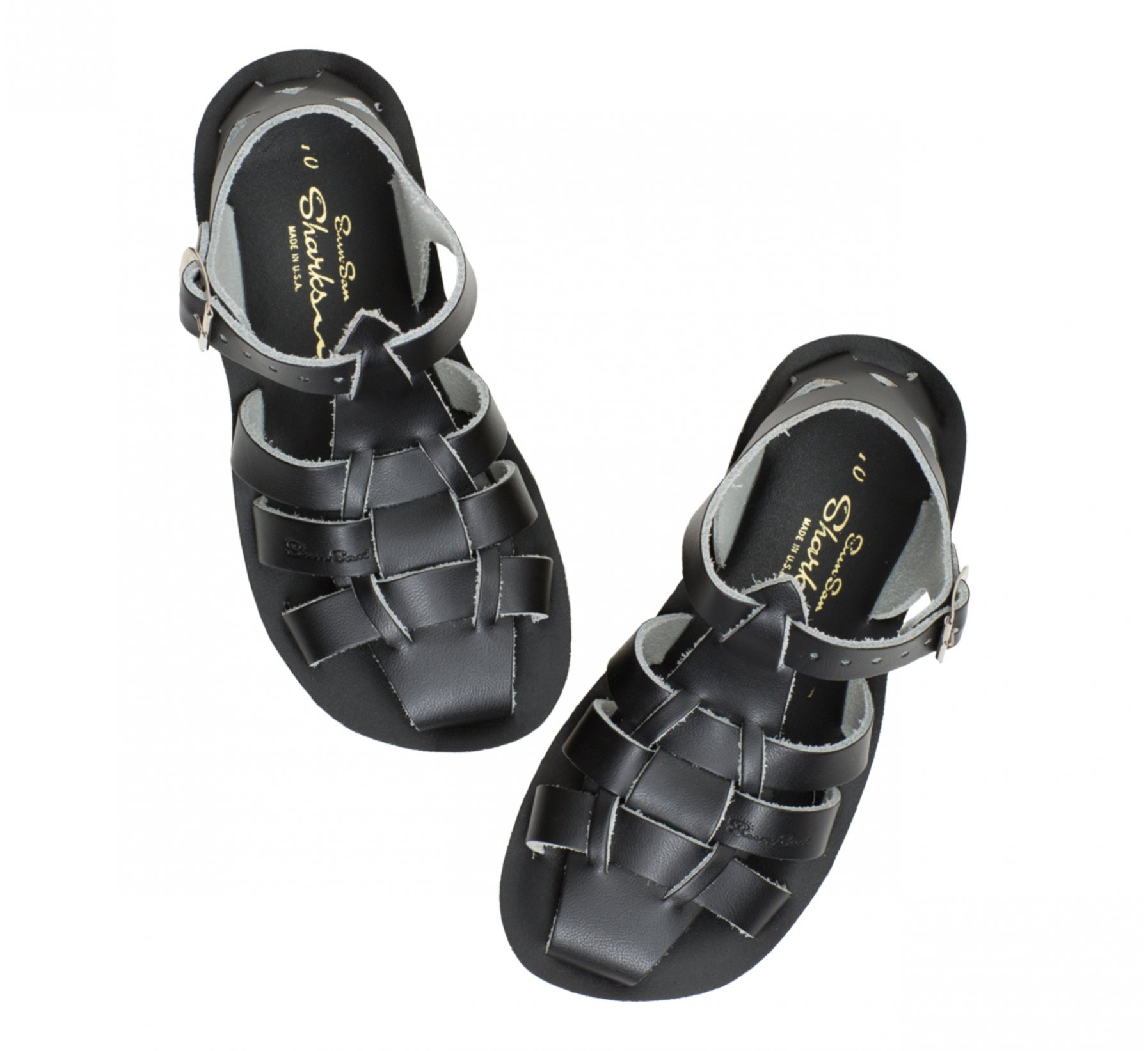 Shark Hitam  - Salt Water Sandals