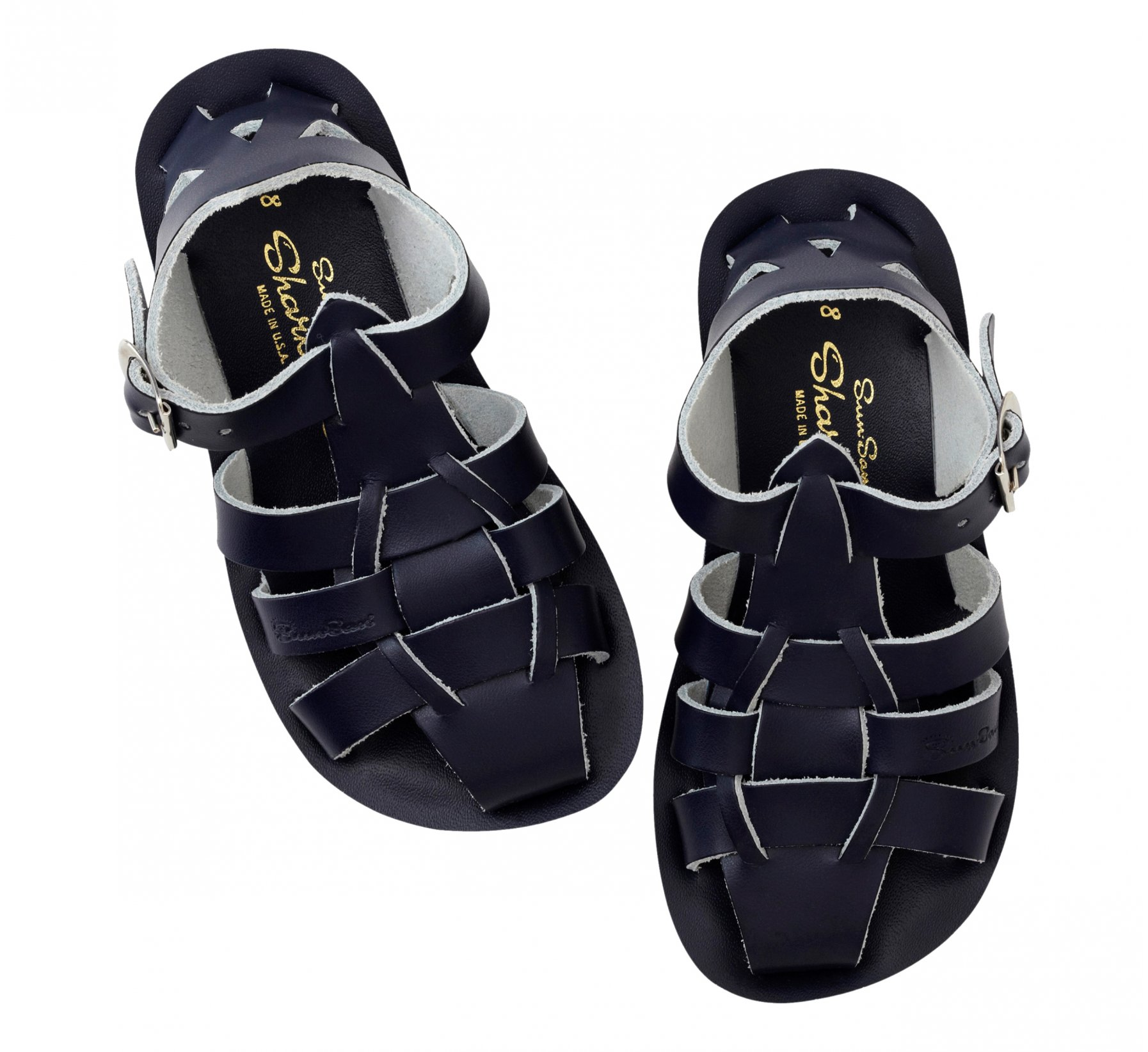 Shark Bleu Marine - Salt Water Sandals