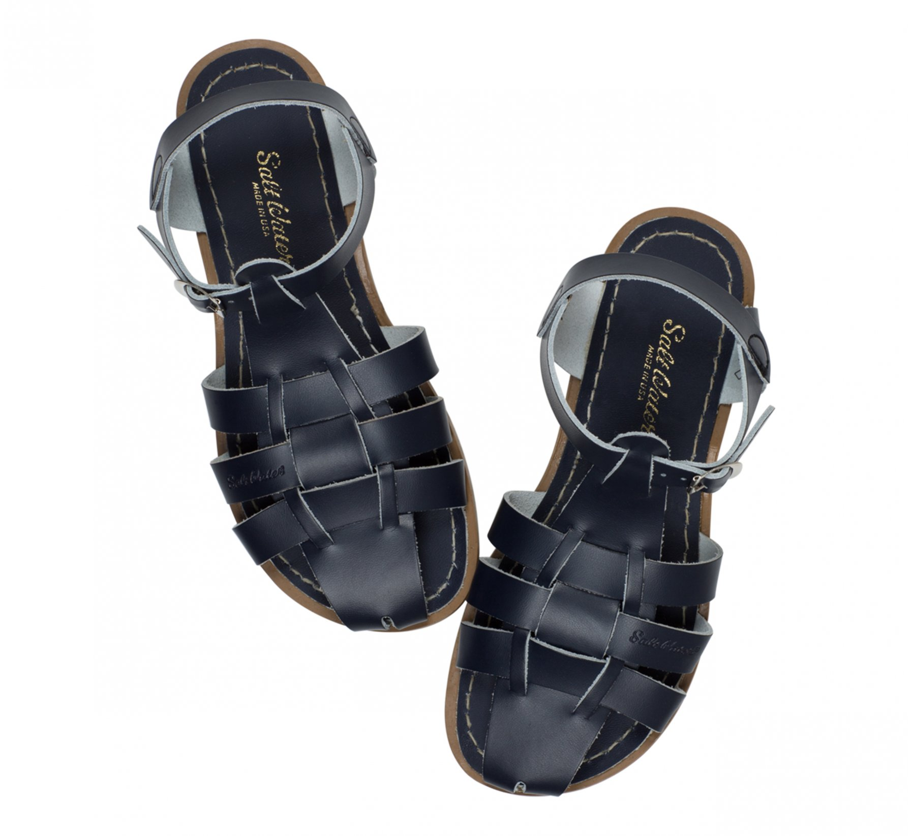 Shark Original in Marineblau - Salt Water Sandals