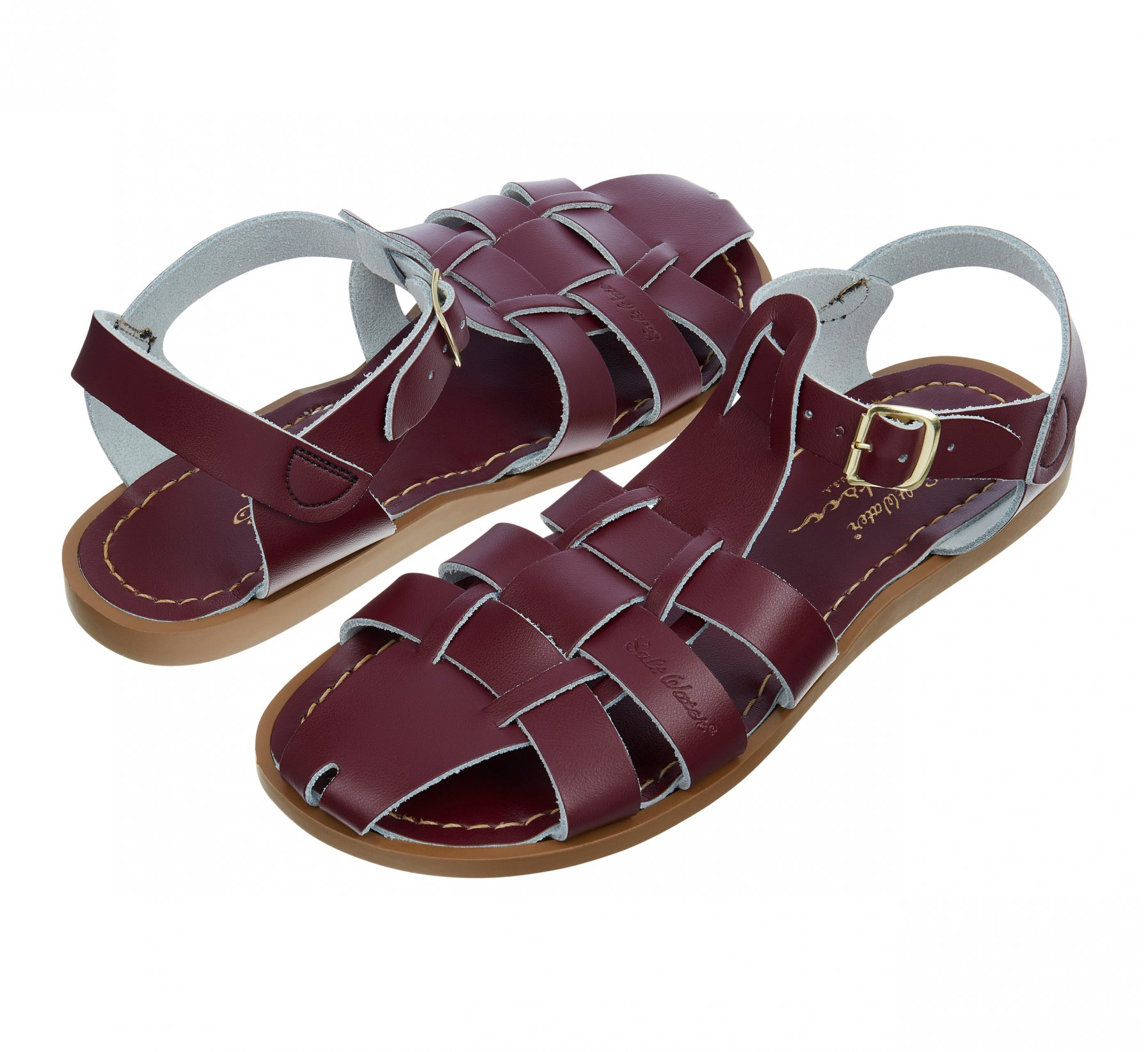 Shark Original Claret  - Salt Water Sandals