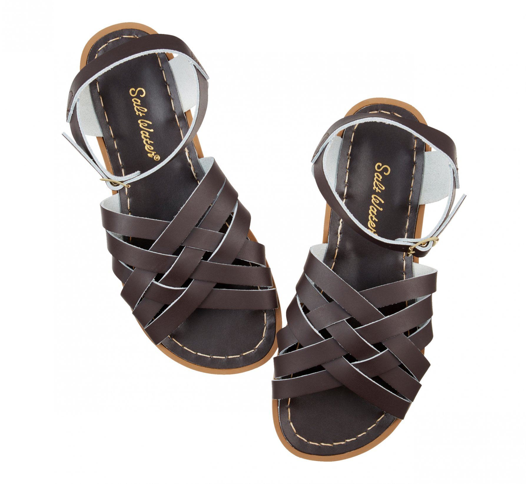 Retro Brown - Salt Water Sandals
