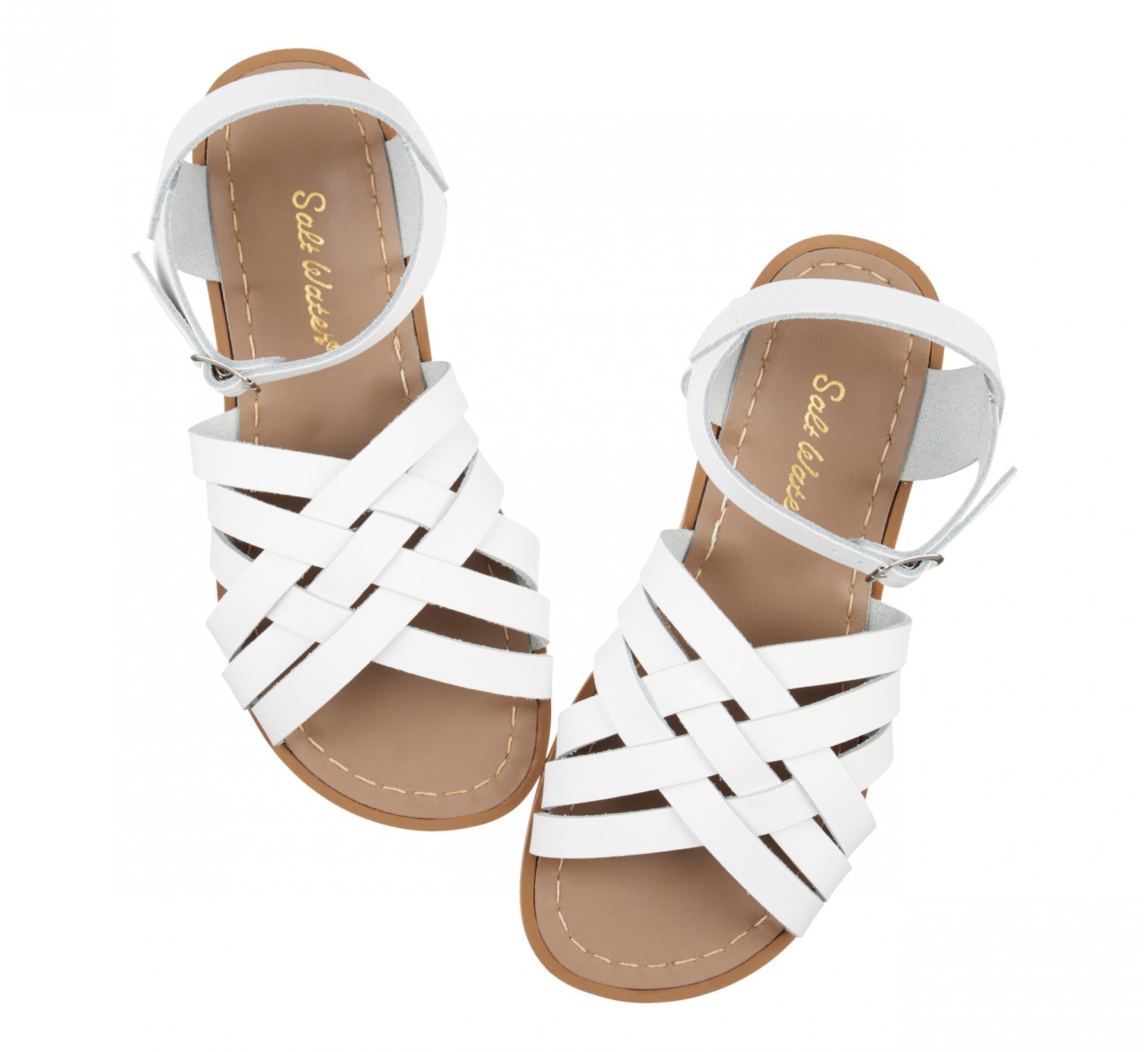 Retro White  - Salt Water Sandals