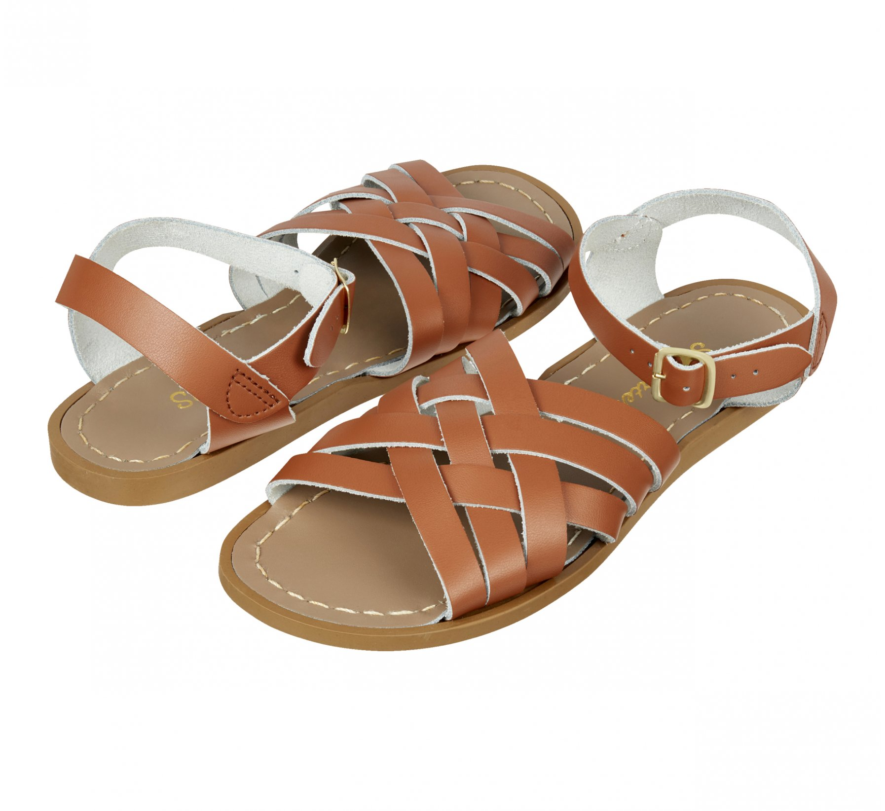 Retro Sawo Matang / Perang Kulit - Salt Water Sandals