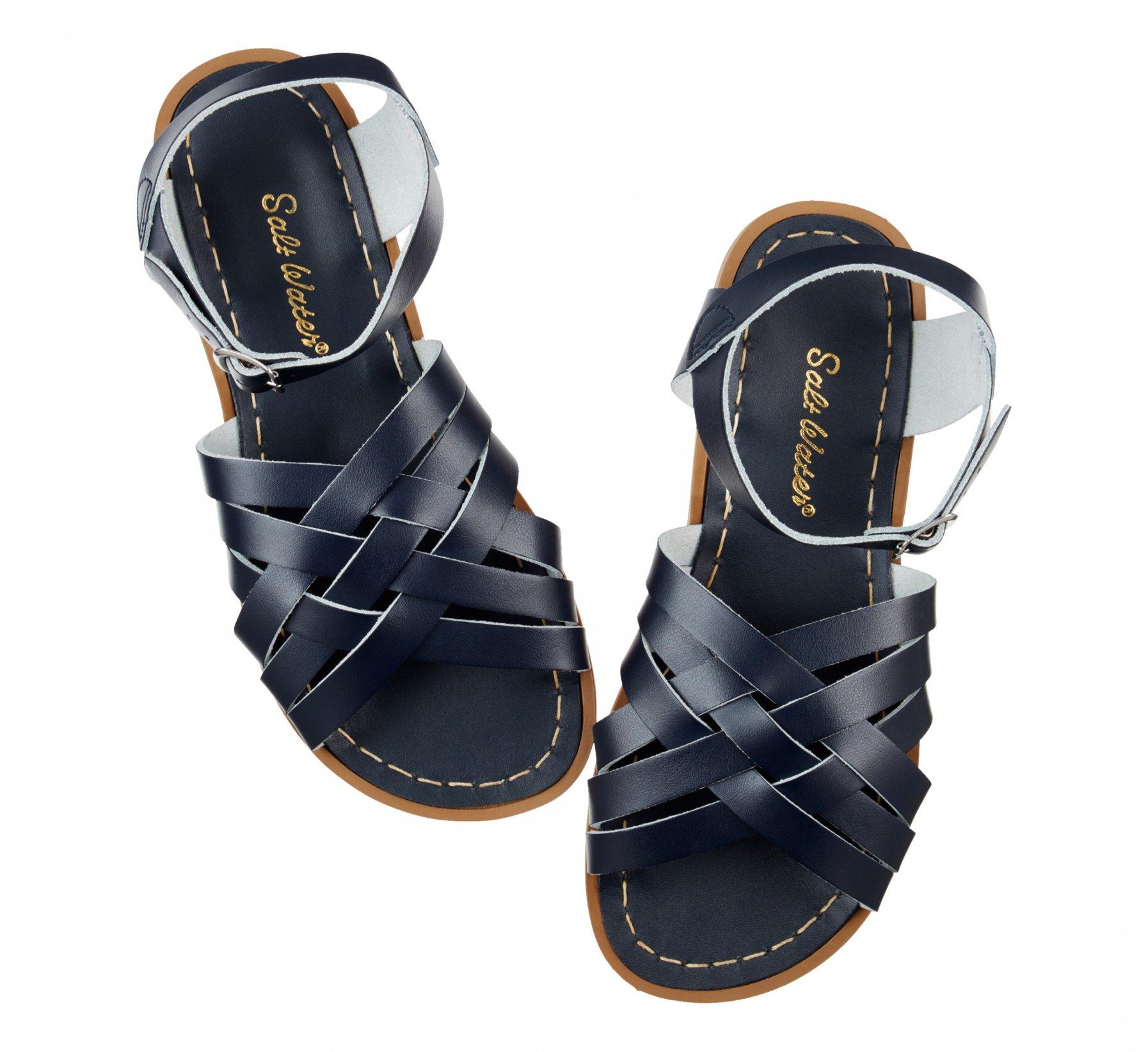 Retro in Marineblau - Salt Water Sandals