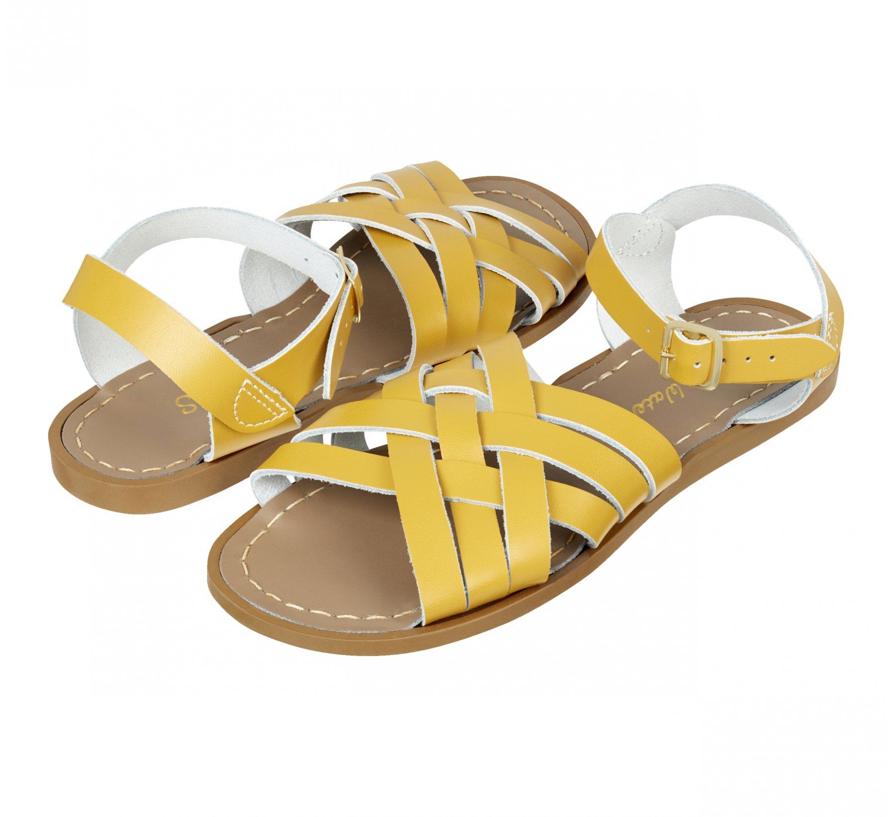 Retro Mustard  - Salt Water Sandals