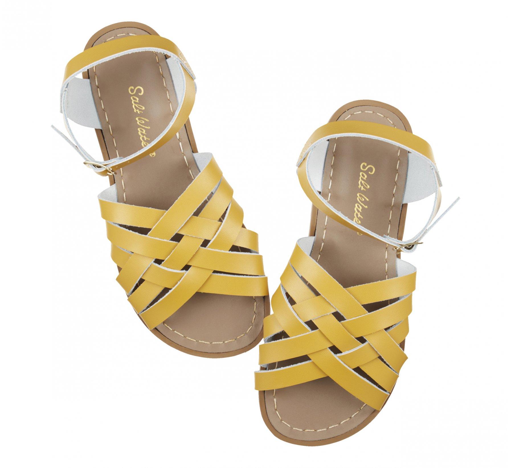 Retro Moutarde - Salt Water Sandals
