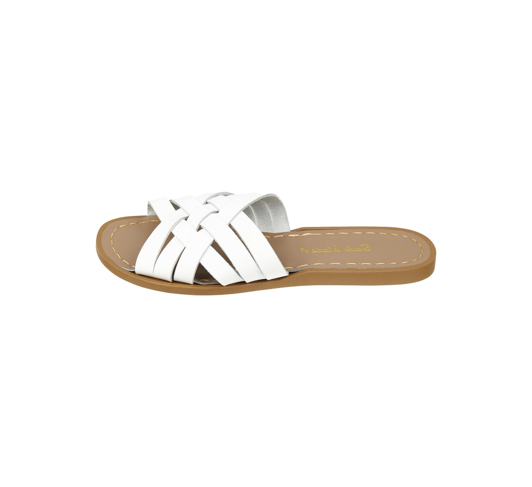 Retro Slide Putih - Salt Water Sandals